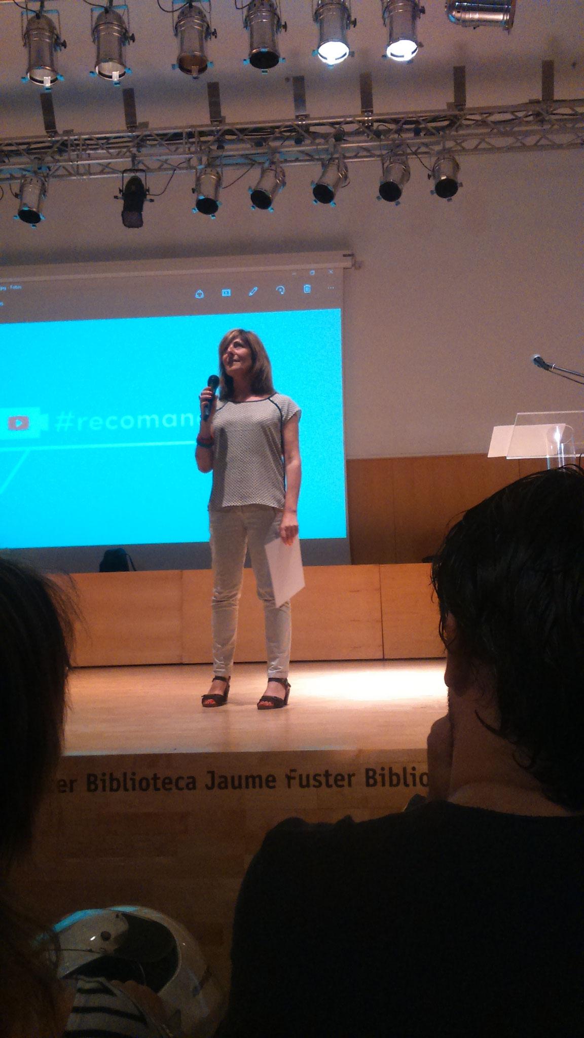 Anna Bröll, membre del jurat #Recomanollegir