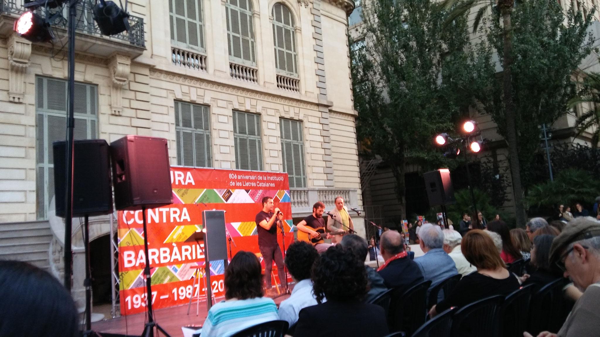 """Borja Penalba i David Caño toquen """"Corrandes d'exili (Pere Quart)"""