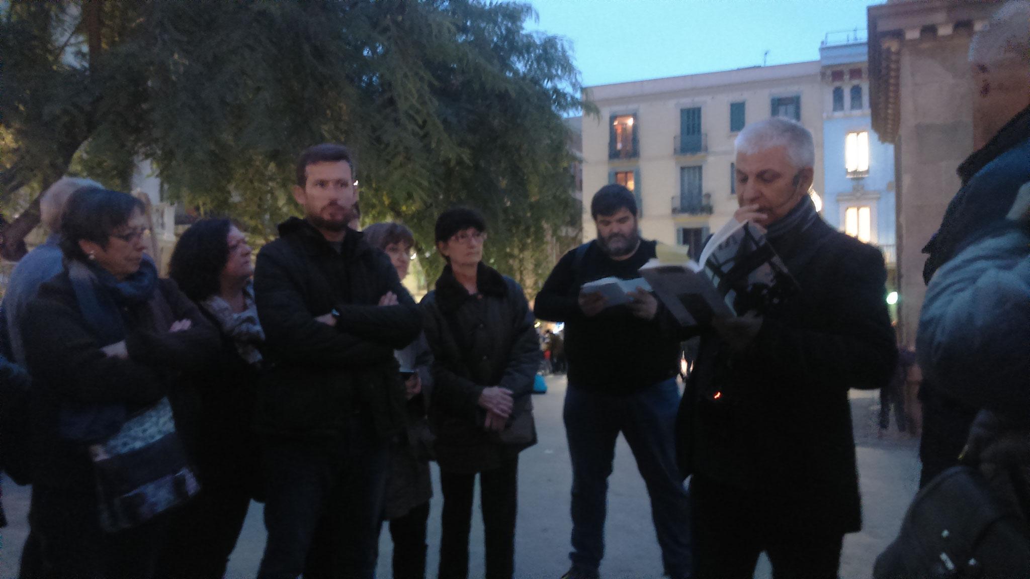 Joan Lafarga llegeix