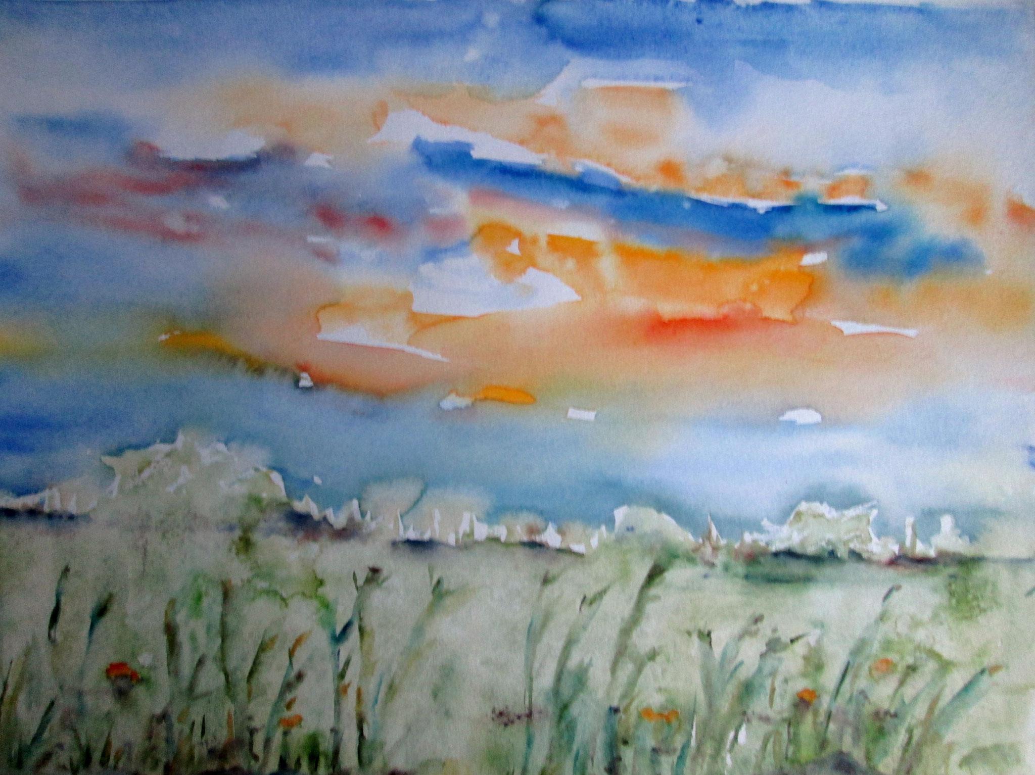 In der Wiese, 36x48 (2010)
