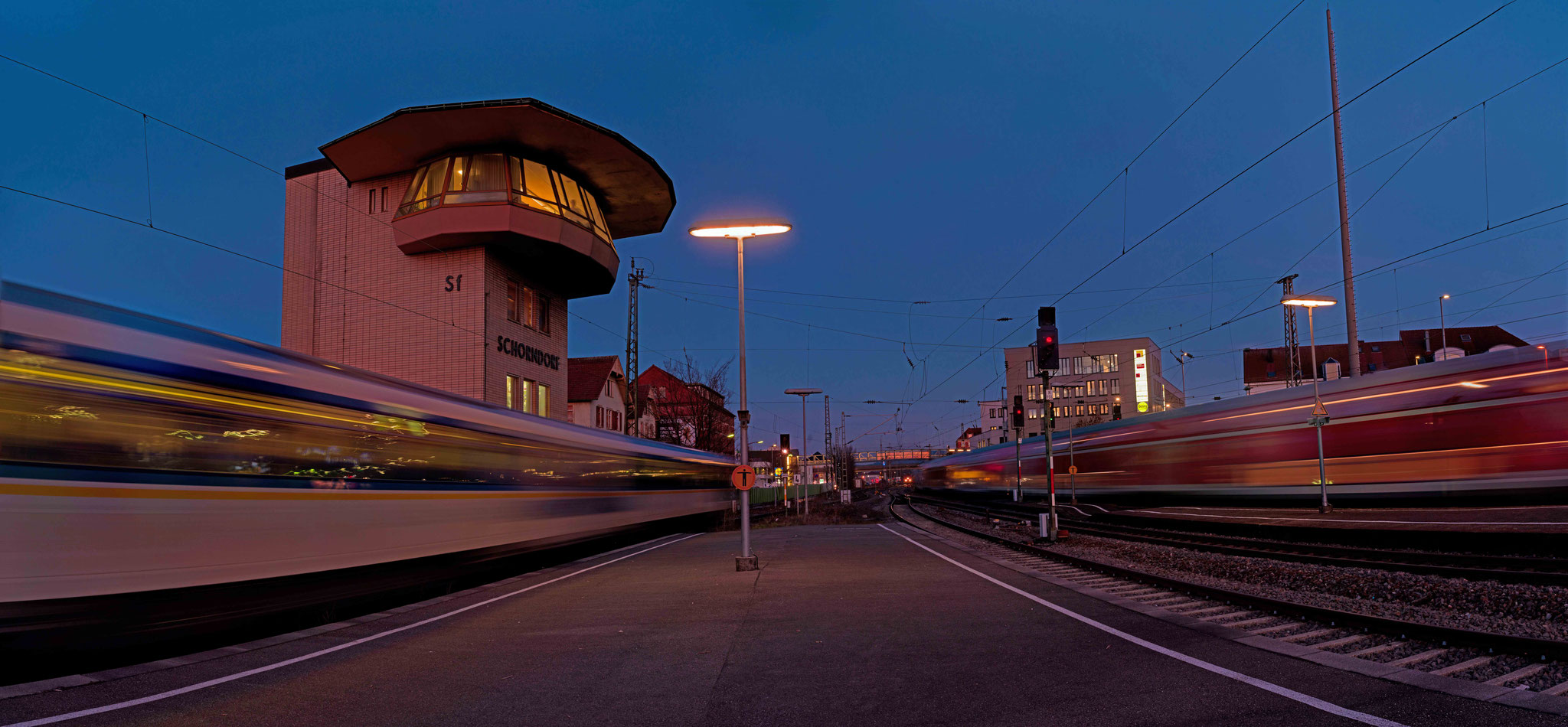 Stellwerk Bahnhof Schorndorf 2019