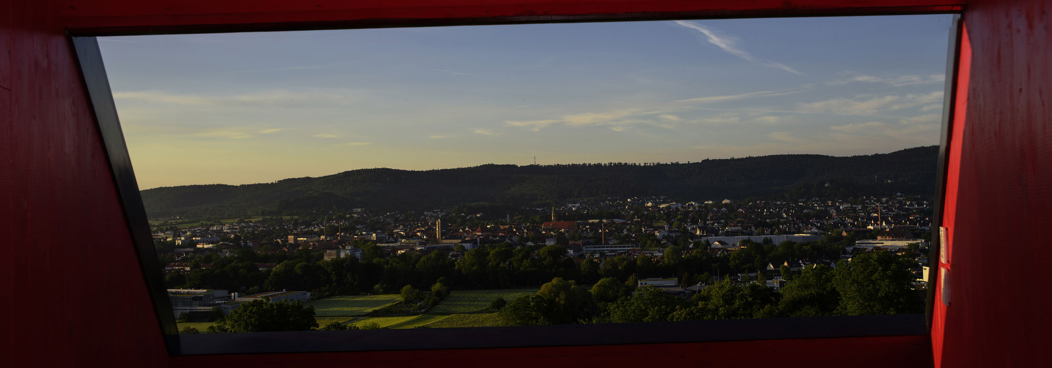 """Panorama Gartenschau Station Schorndorf """"Prisma"""""""