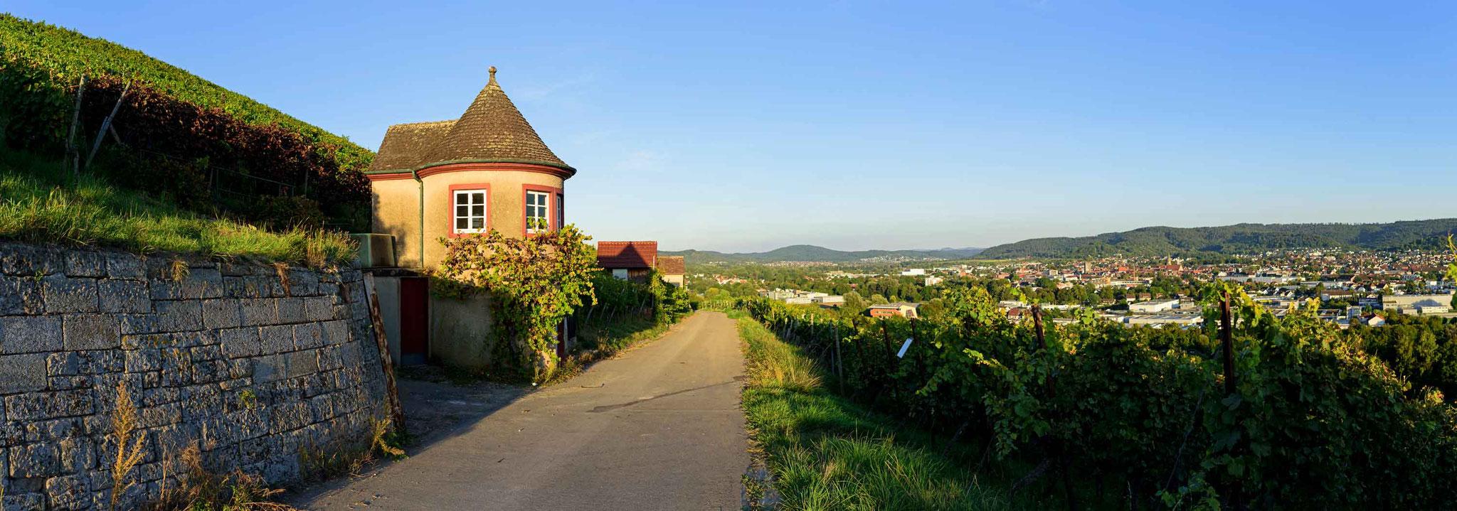 Grafenberg Schorndorf - Panoramaaufnahme in der Rems-Murr-Klinik Schorndorf