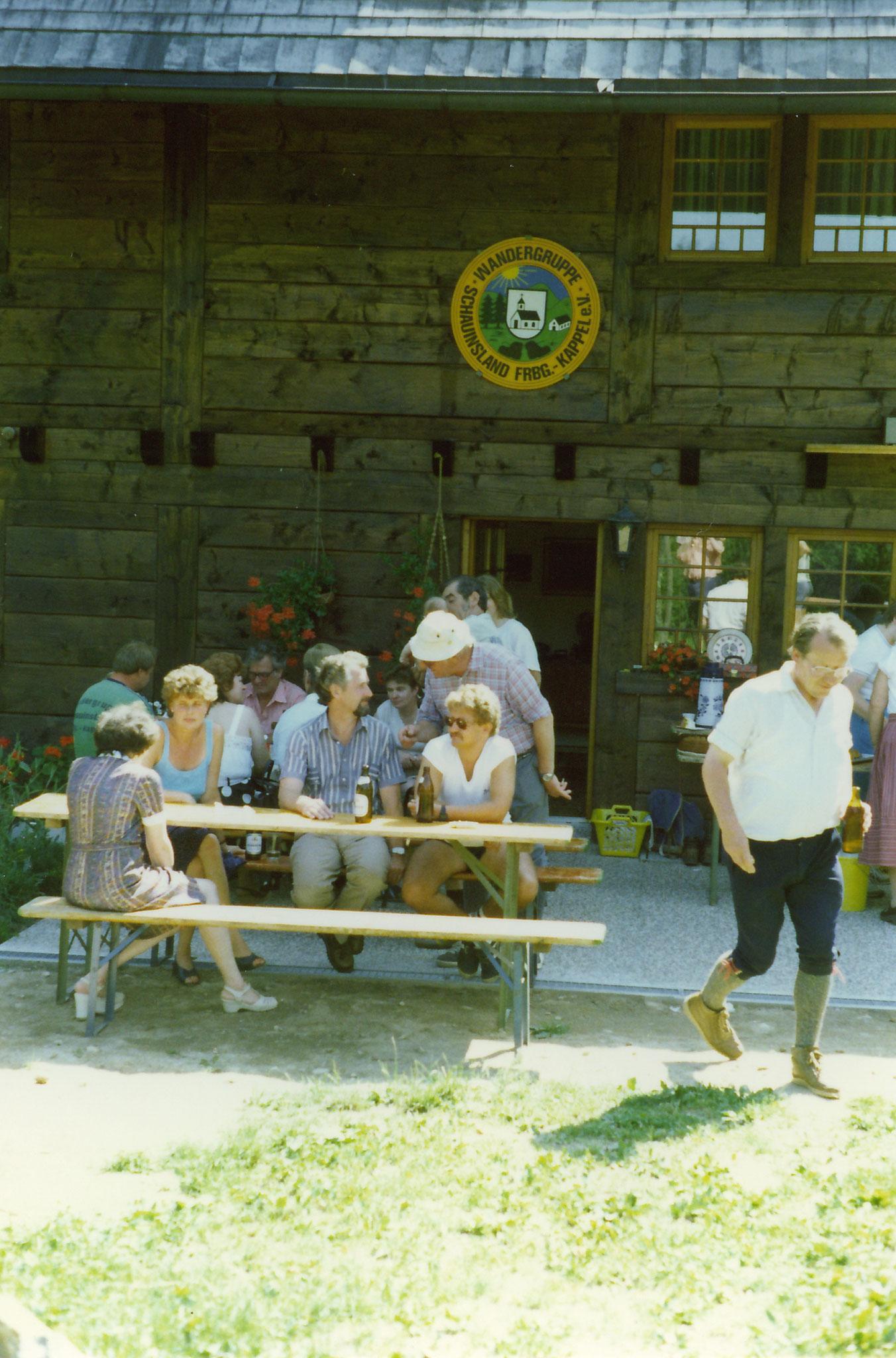 Hock bei der Fam. Heise Klaus Jürgen und Margtalena im Kleintal  90 Jahre