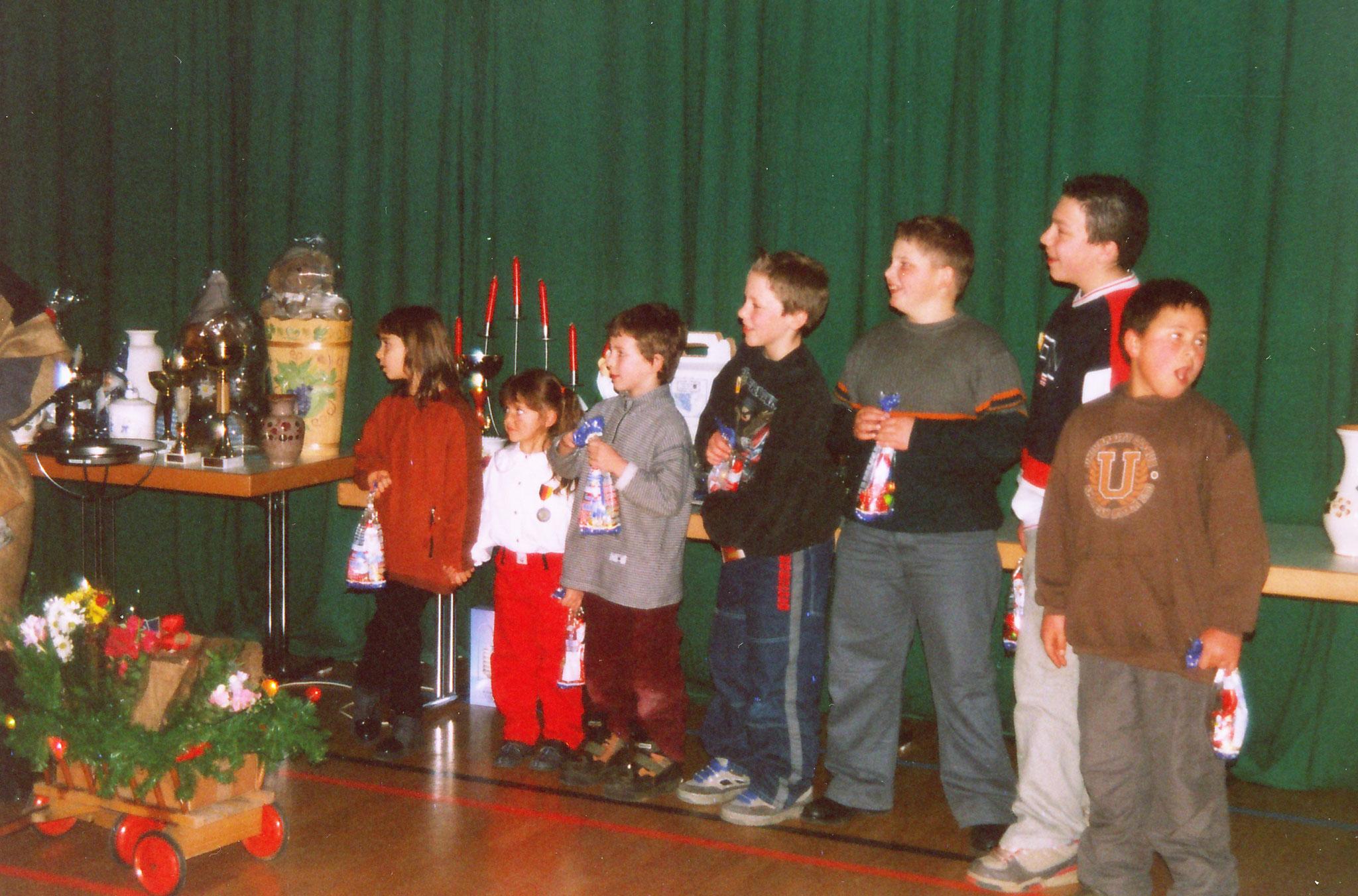 Weihnachtfeier und Pokalverteilung an die Jungend