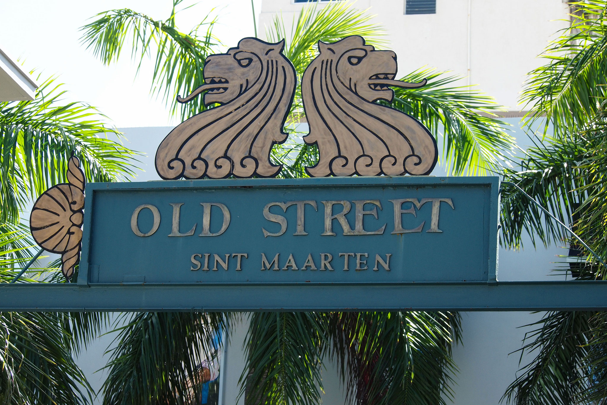 Visit Old Street in Philipsburg