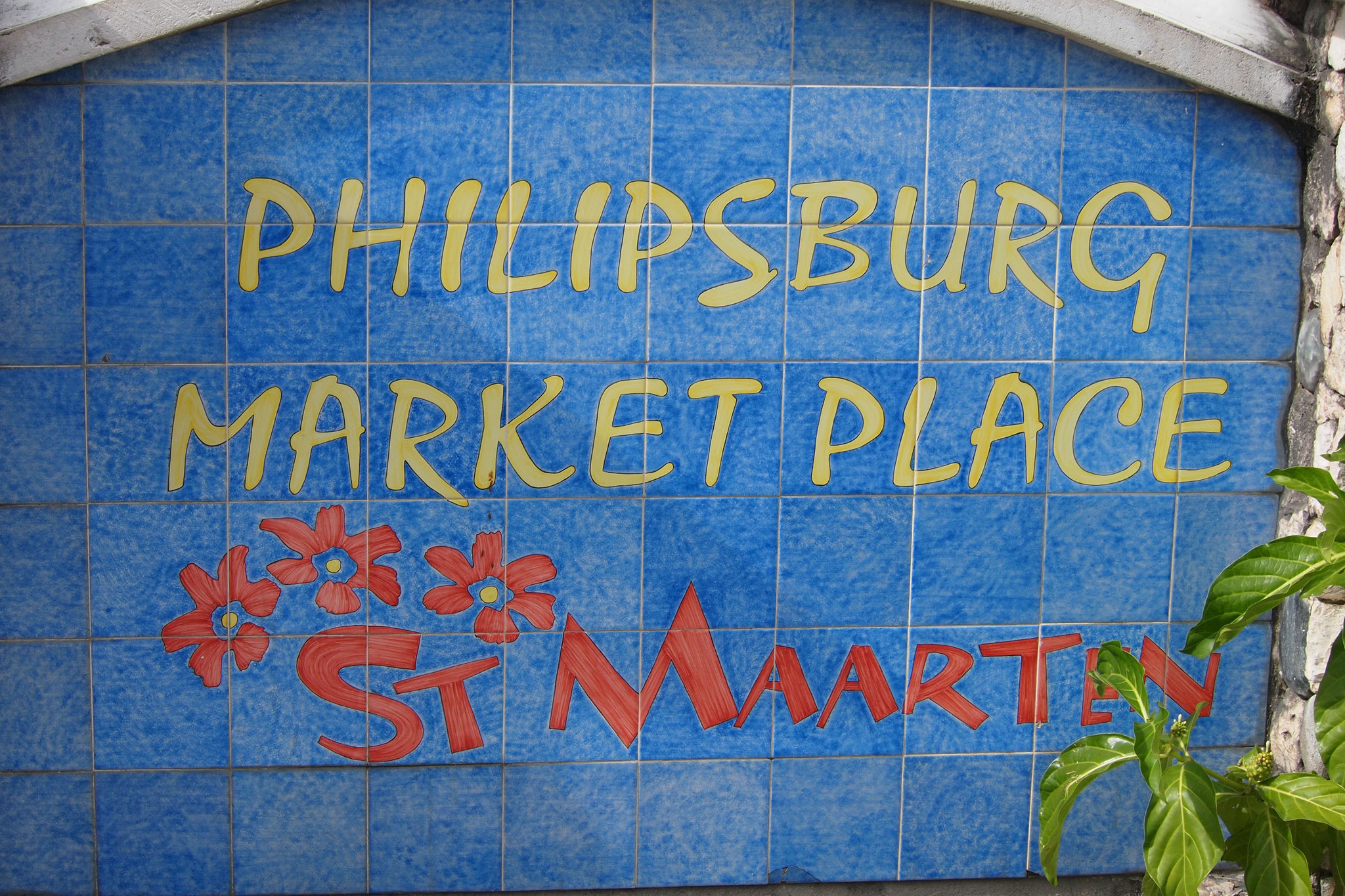 Shop at the Philipsburg Market luxurious duty free shop