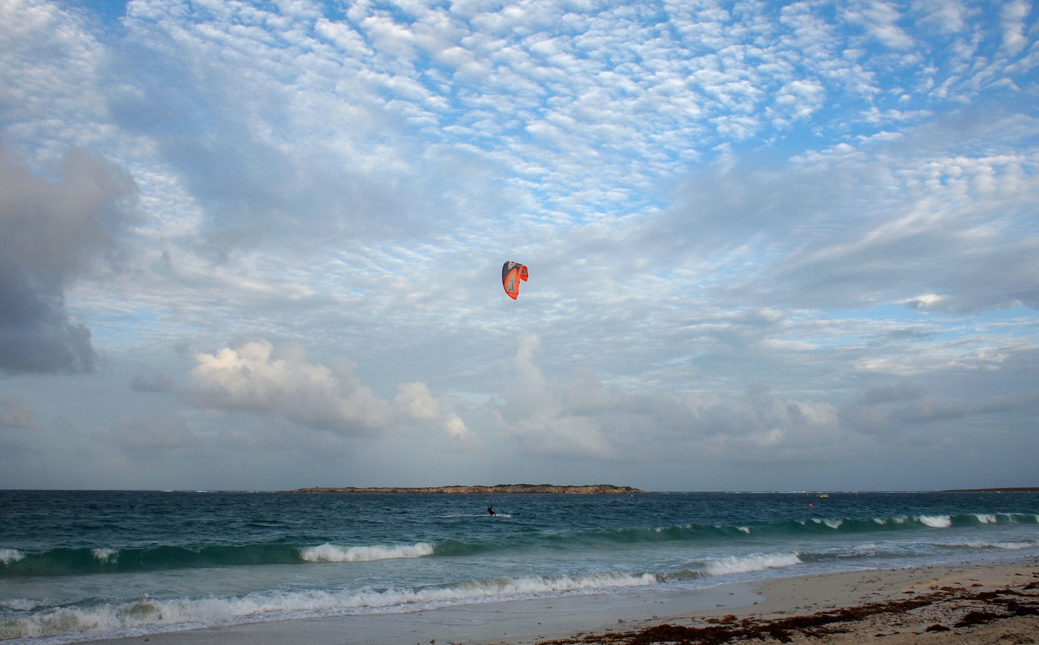 Kitesurf in Orient Bay