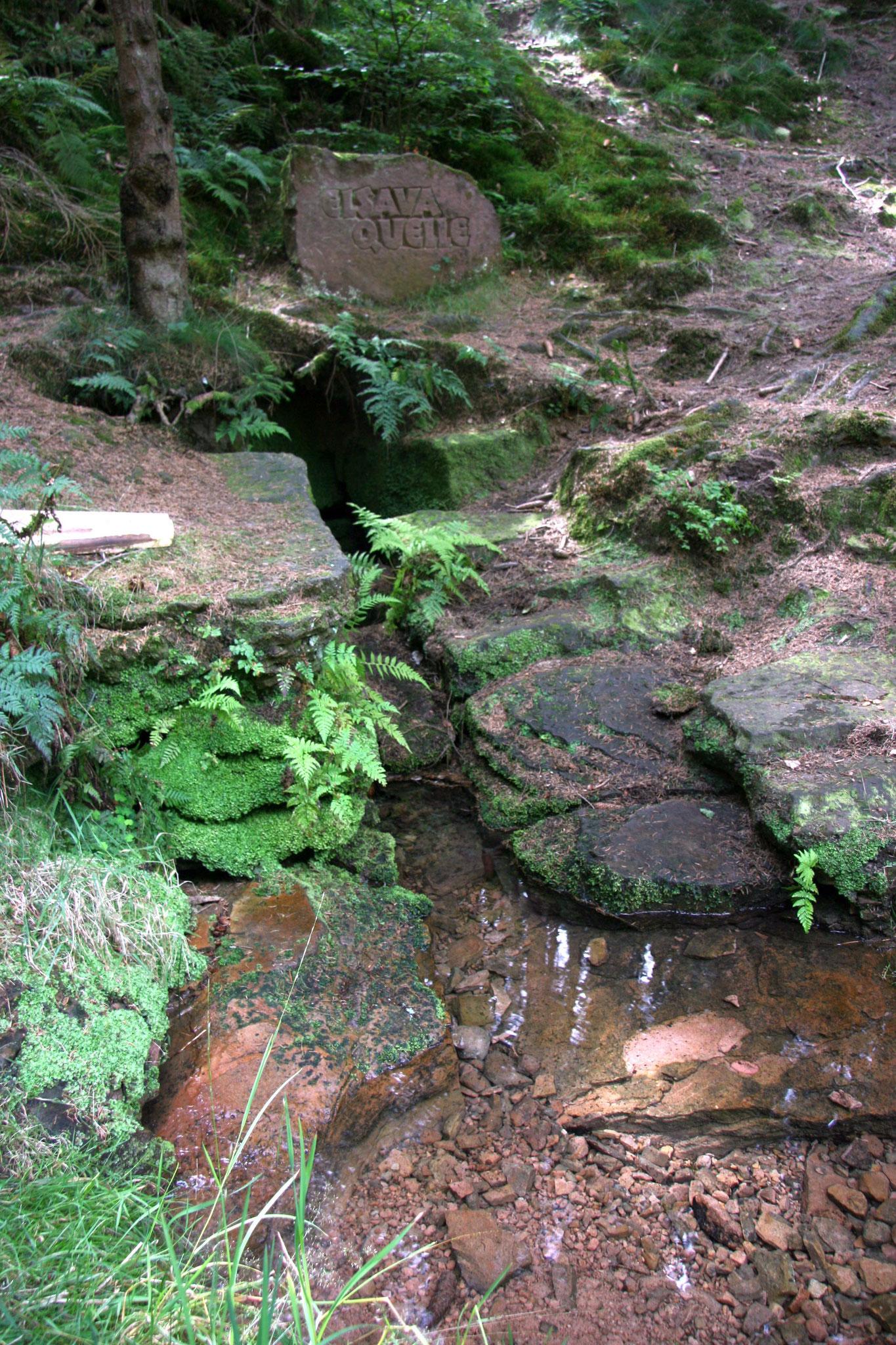 Die Elsava-Quelle bei Mespelbrunn