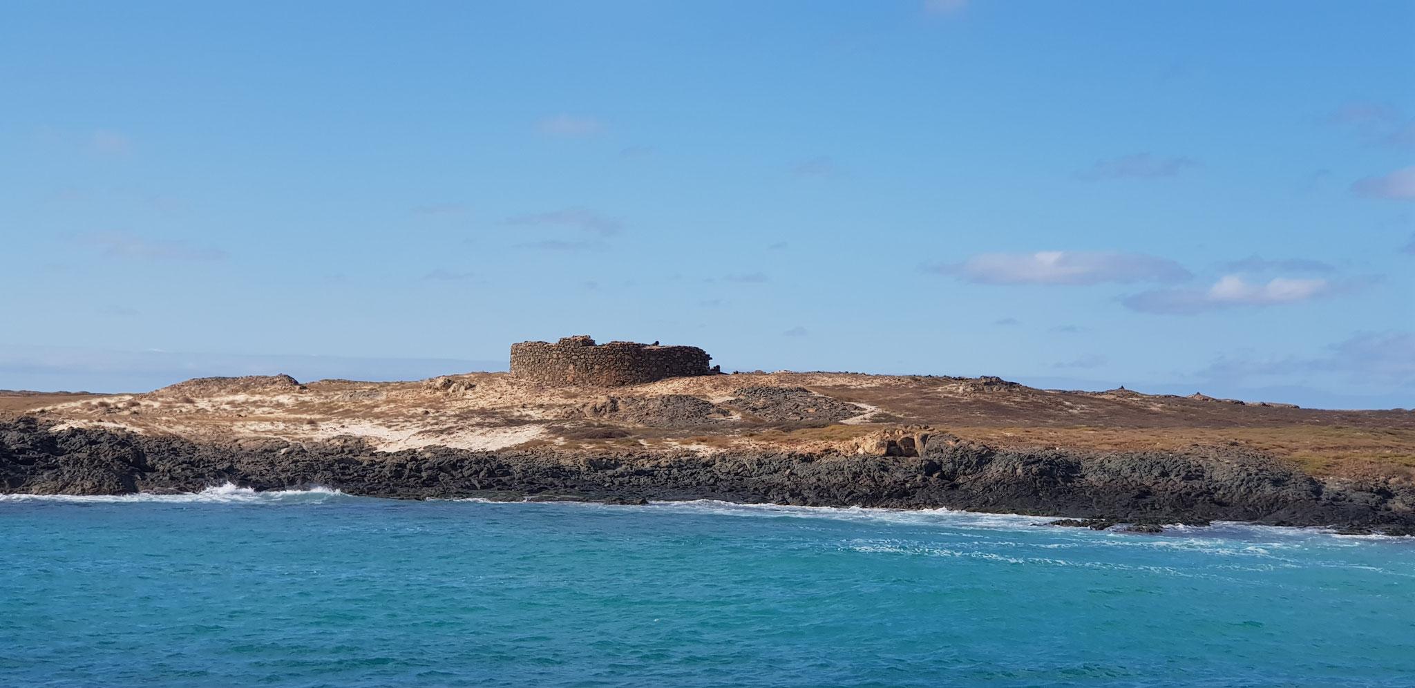 das Fort von außen