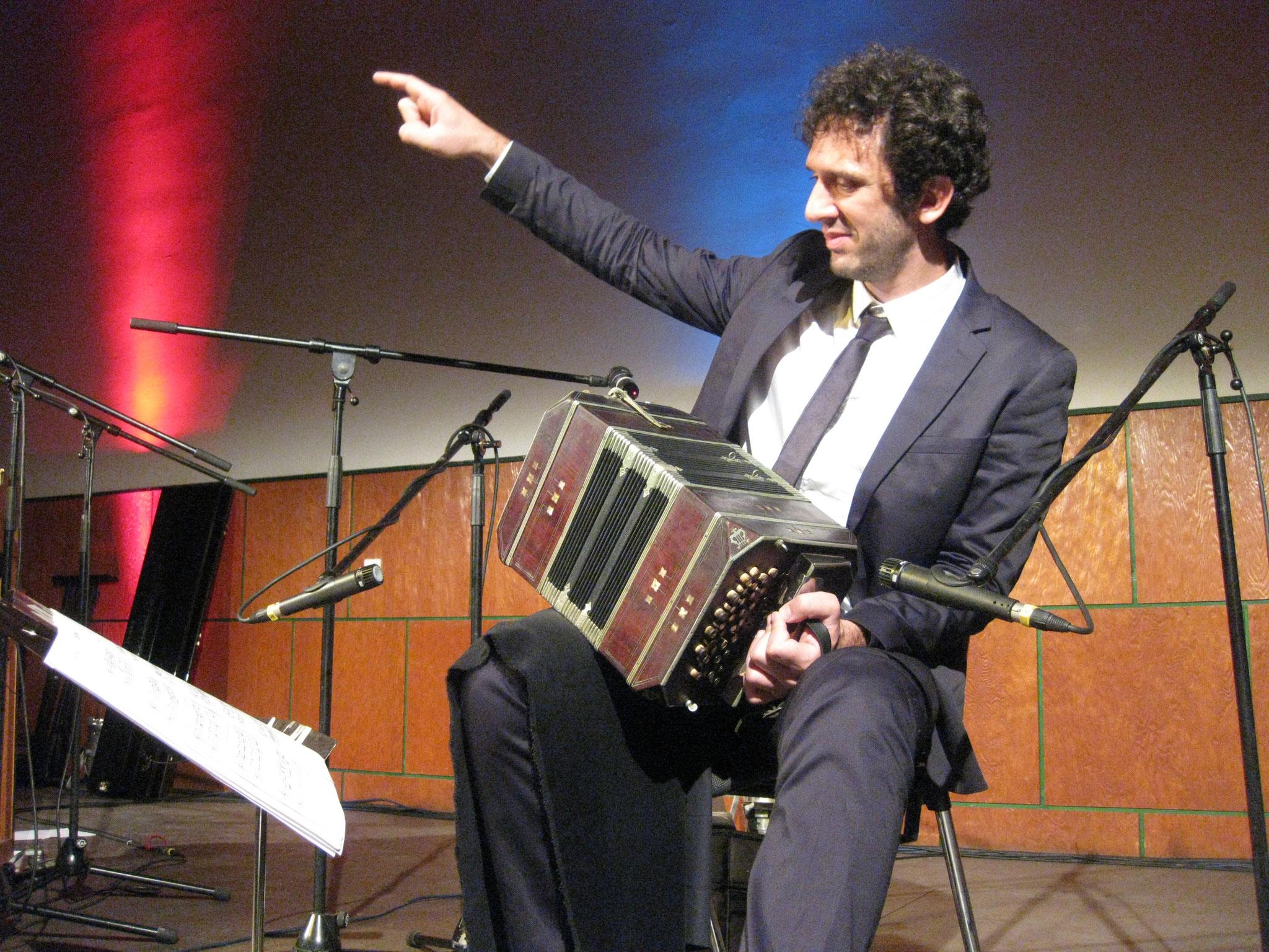 Leandro vom Duo Ranas 2010