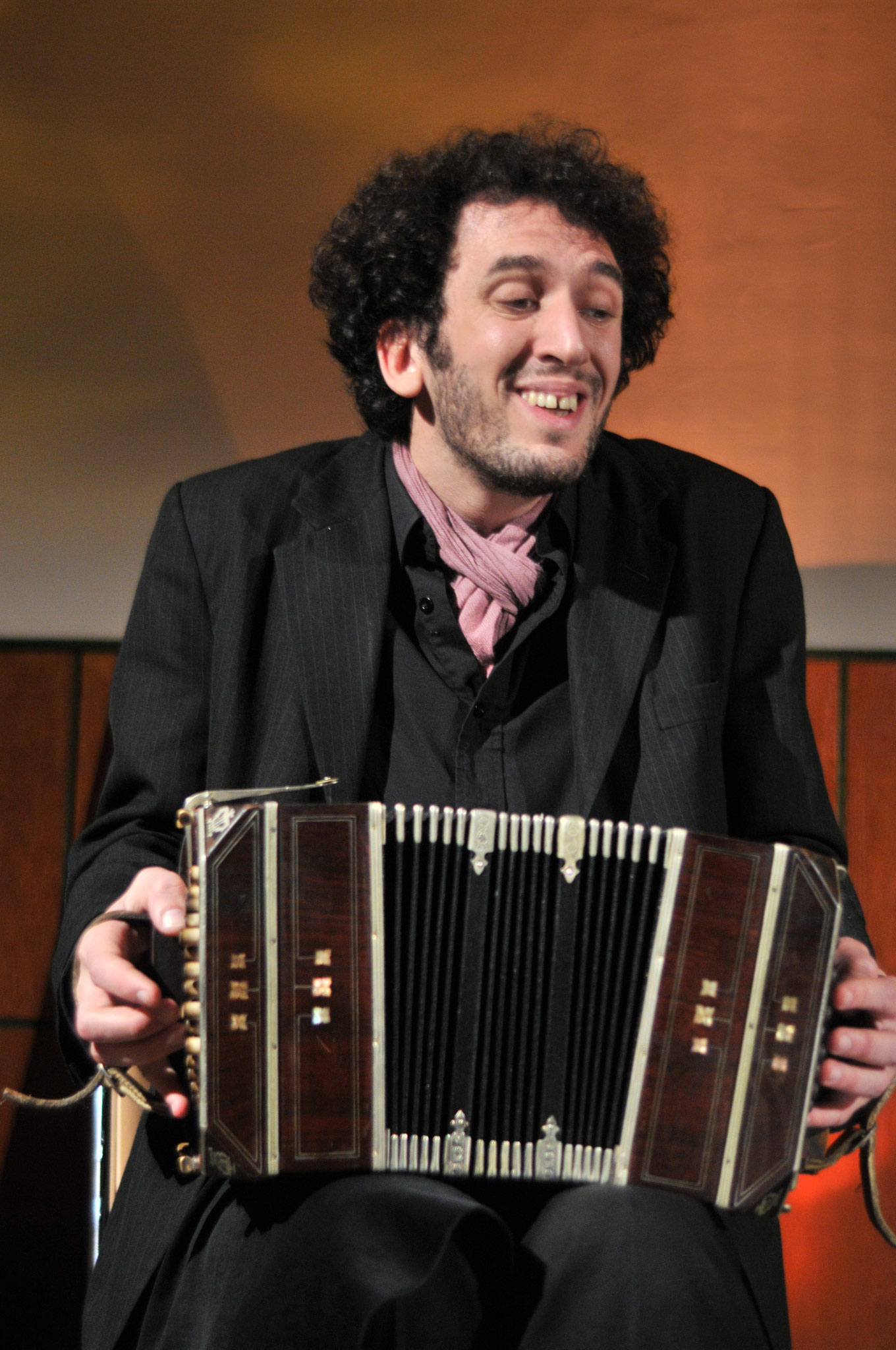 Leandro vom Duo Ranas 2010 (Foto Paul Clemens)