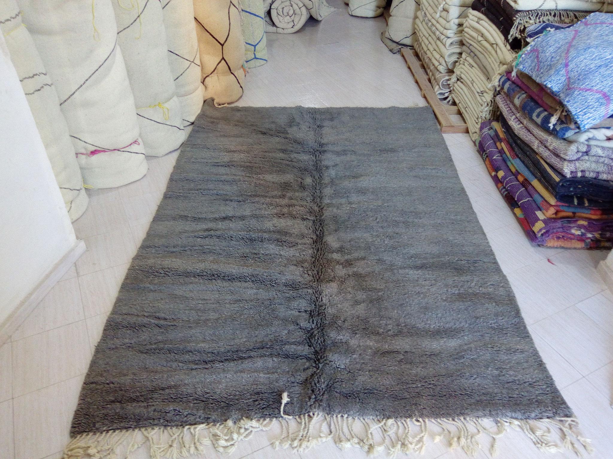 Tapis Beni Ouarain Noir les tapis du maroc de beni ouarain - tapis moderne de l