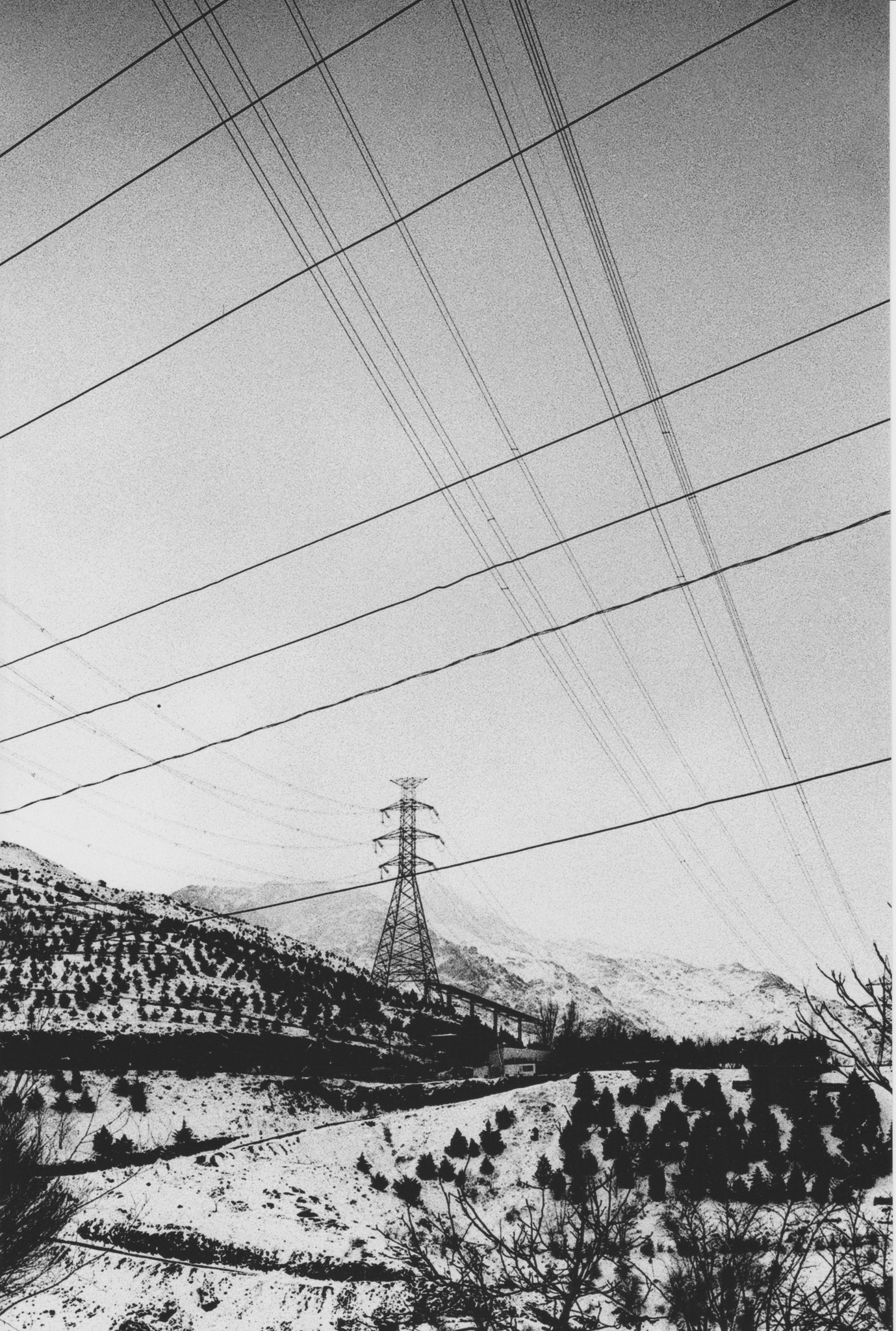 Sarah Najand -  Mont Towchal - 2016 - tirage argentique 30x45