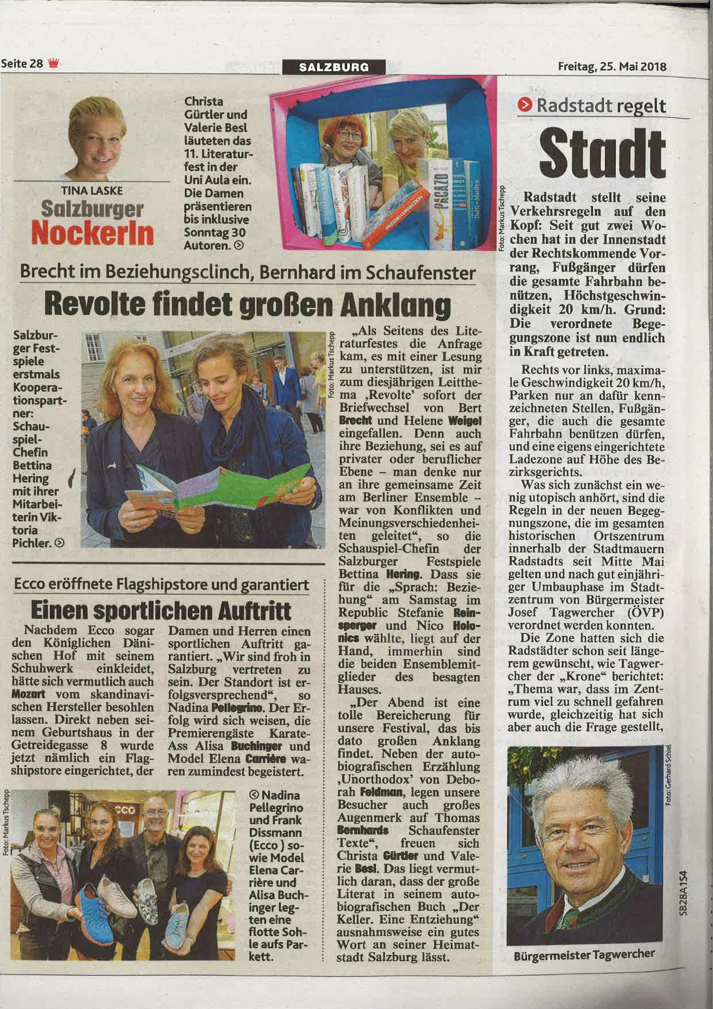 Kronen Zeitung, 25.05.2018