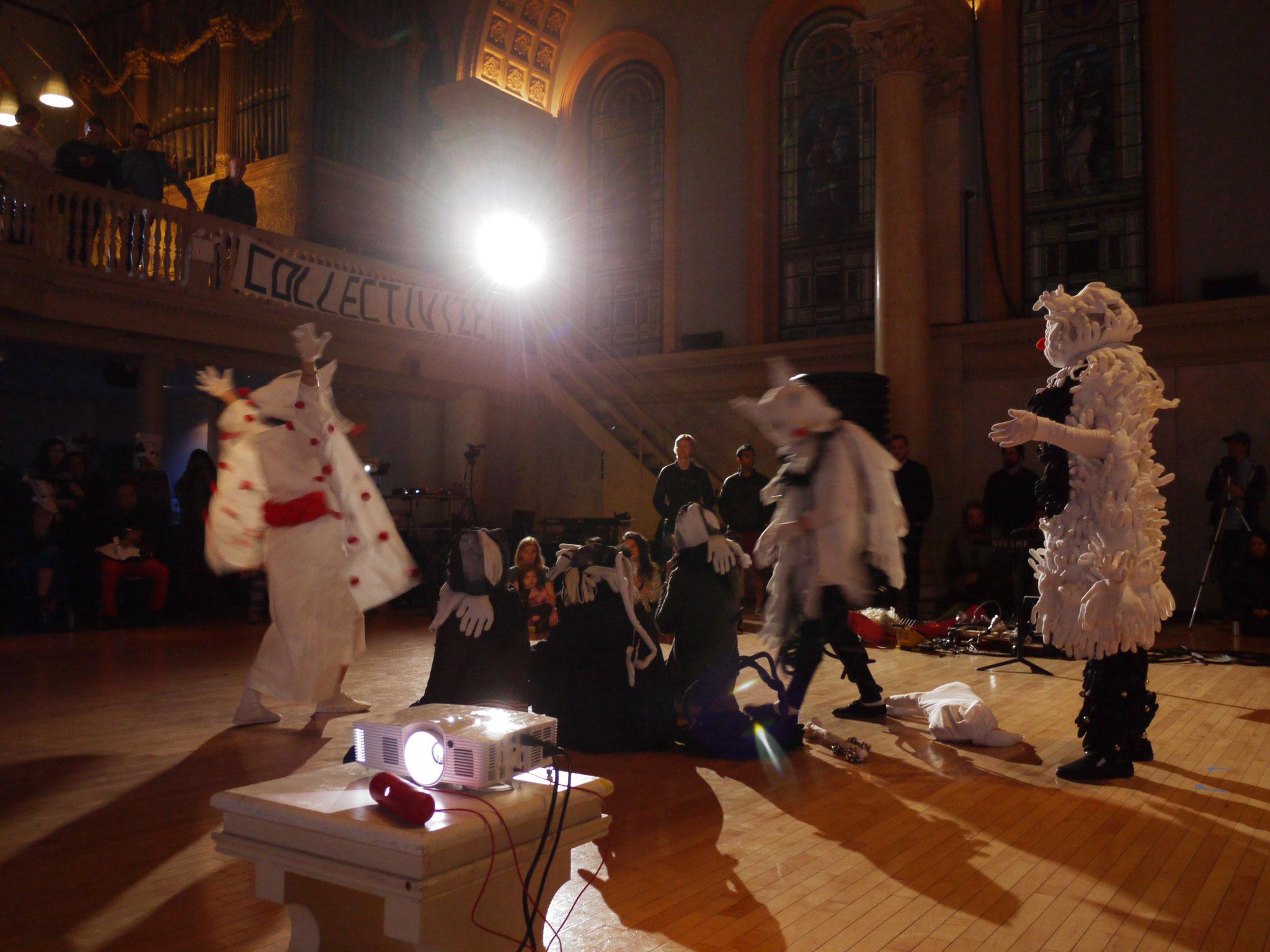 Parade -The Sacrifices-, May 12th, 2016, at Anarko Art Festival, JudsonMemorial Church