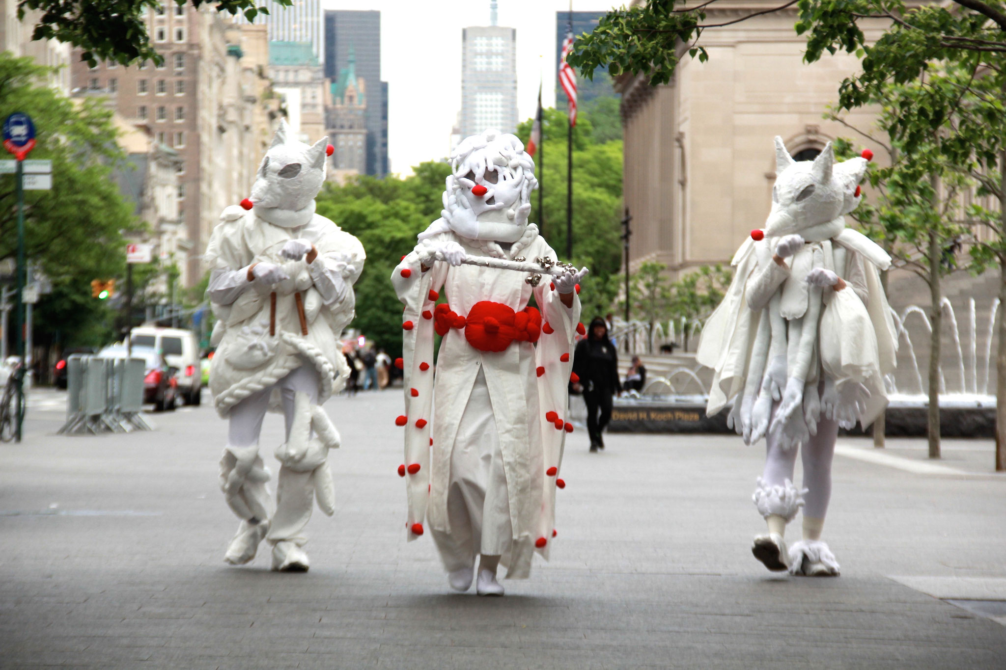 Parade -The circus-, May 18th, 2016 at National Academy Museum and Fifth avenue
