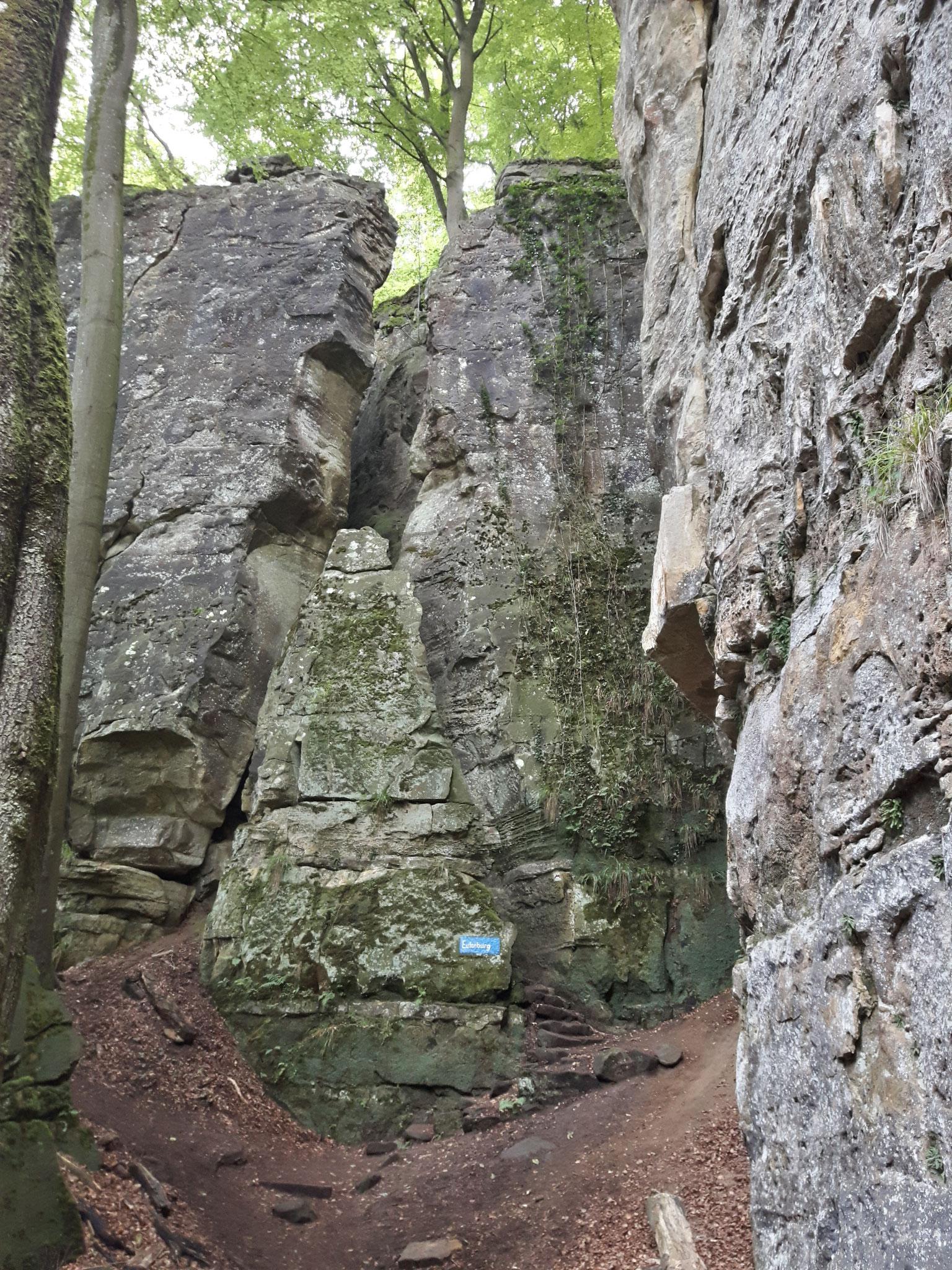 Mullerthal-Trail: Eulenburg