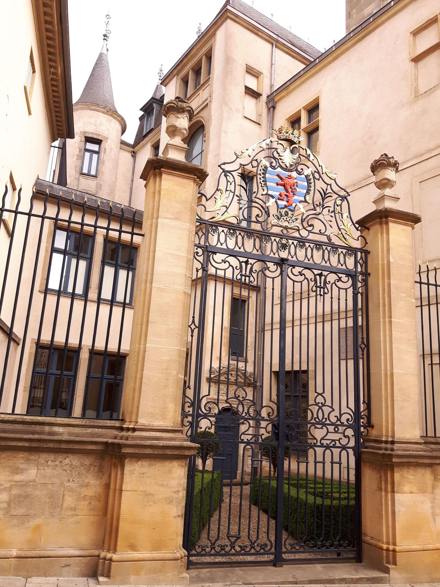 Luxemburg: Palais Gran-Ducal