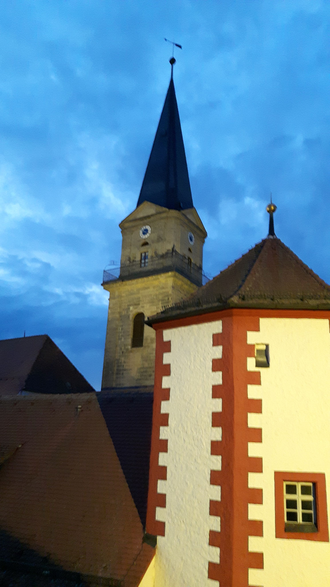 Kirchlein in Markredwitz, Startort des Goldsteigs