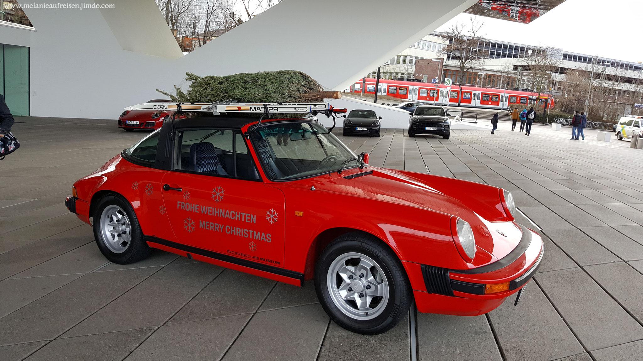 Frohe Weihnachten wünschst das Porsche-Museum