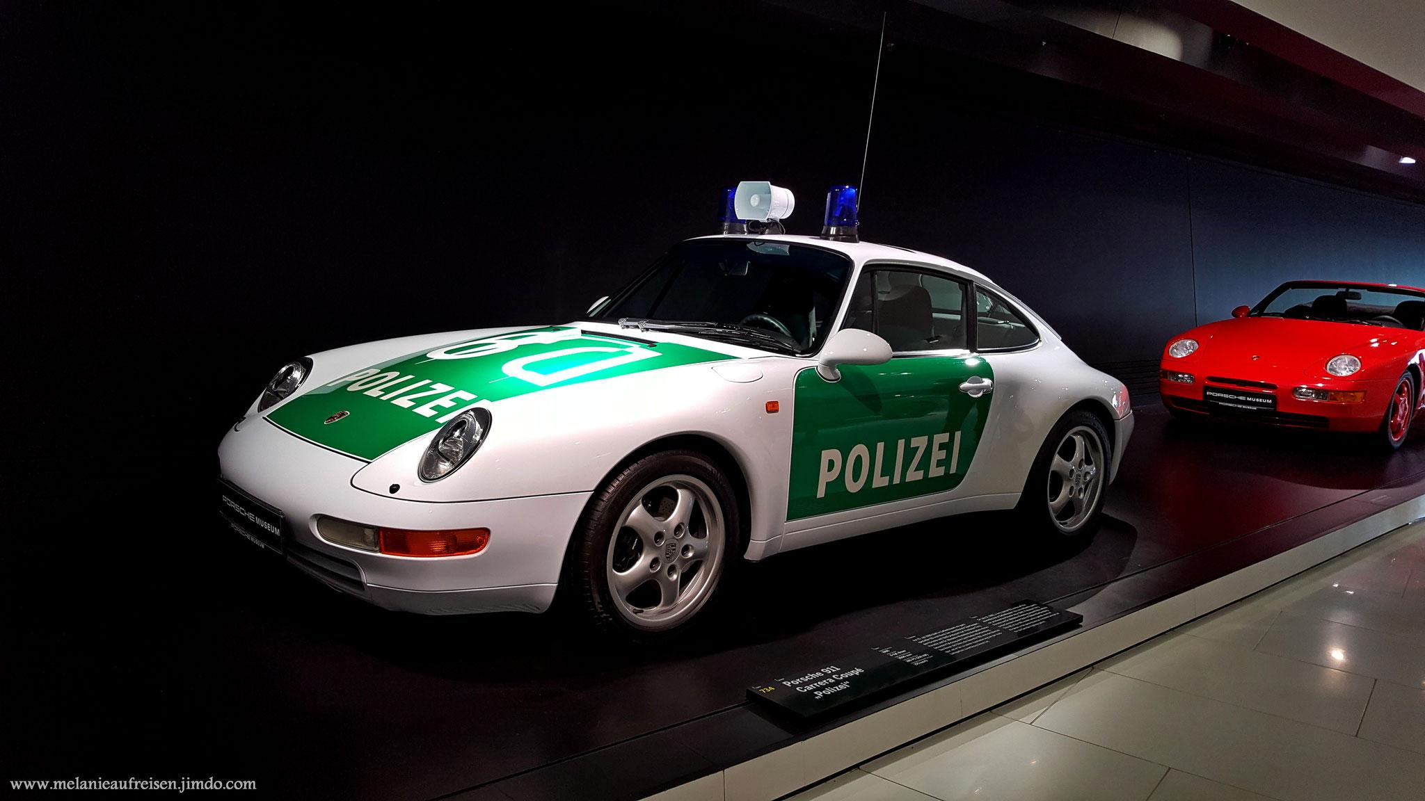 Dieser Wagen war sogar im echten Einsatz bei der Stuttgarter Polizei