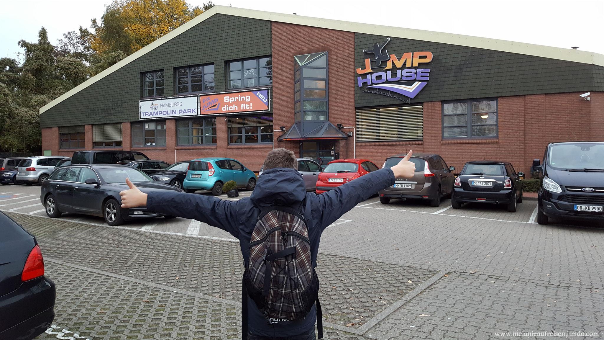 Besuch im Jump-House Hamburg