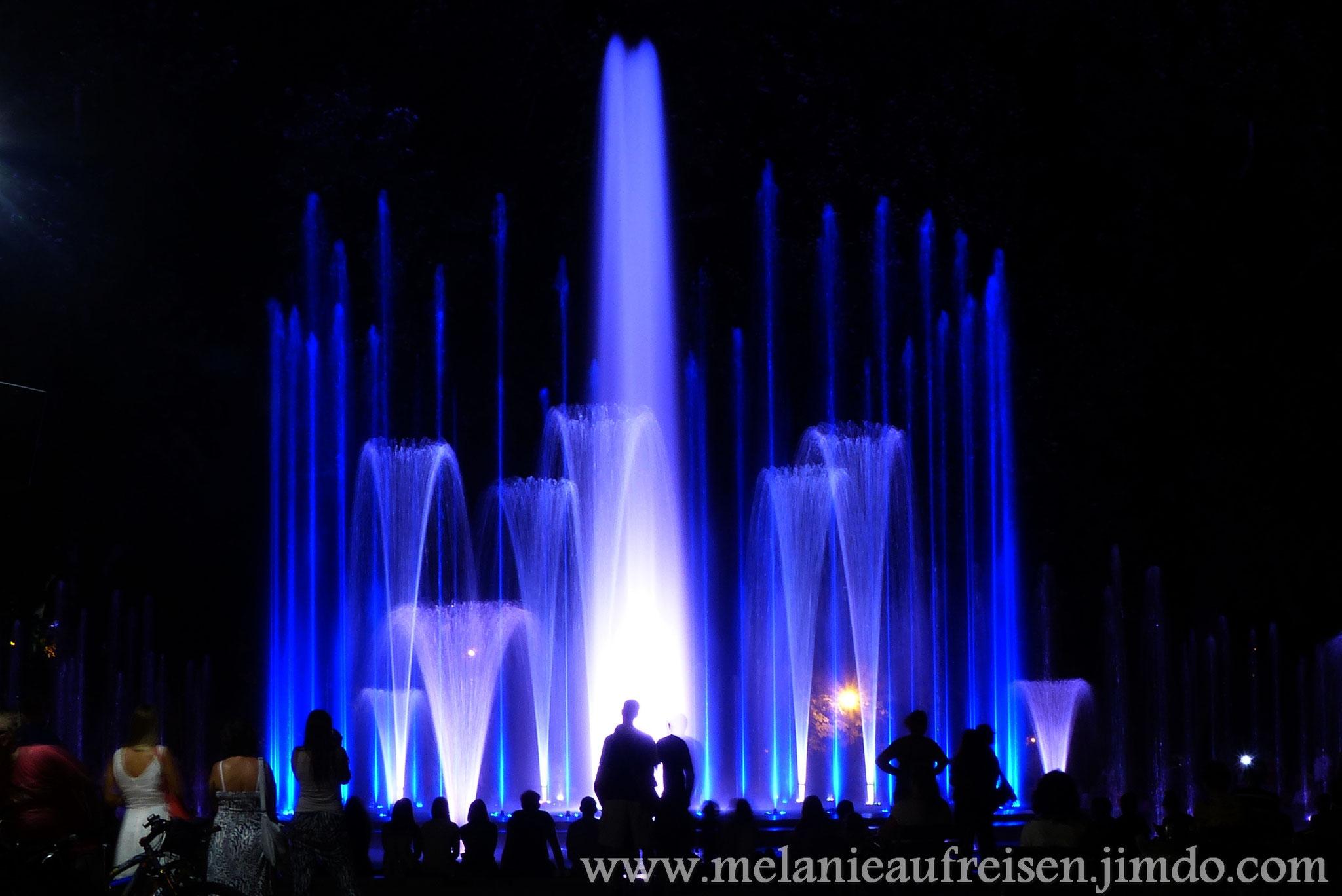 Musikbrunnen auf der Margareten-Insel in Budapest
