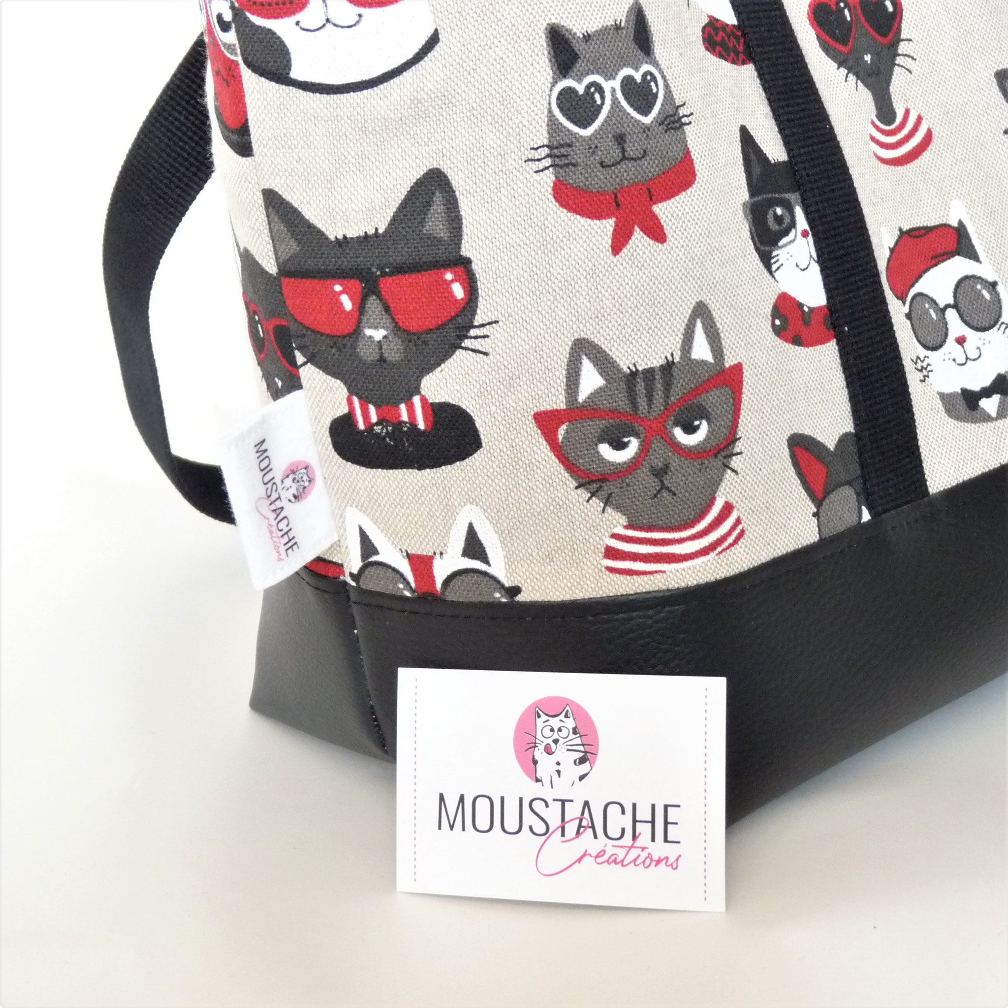 Sac Cabas Aurélie - Funny Cat