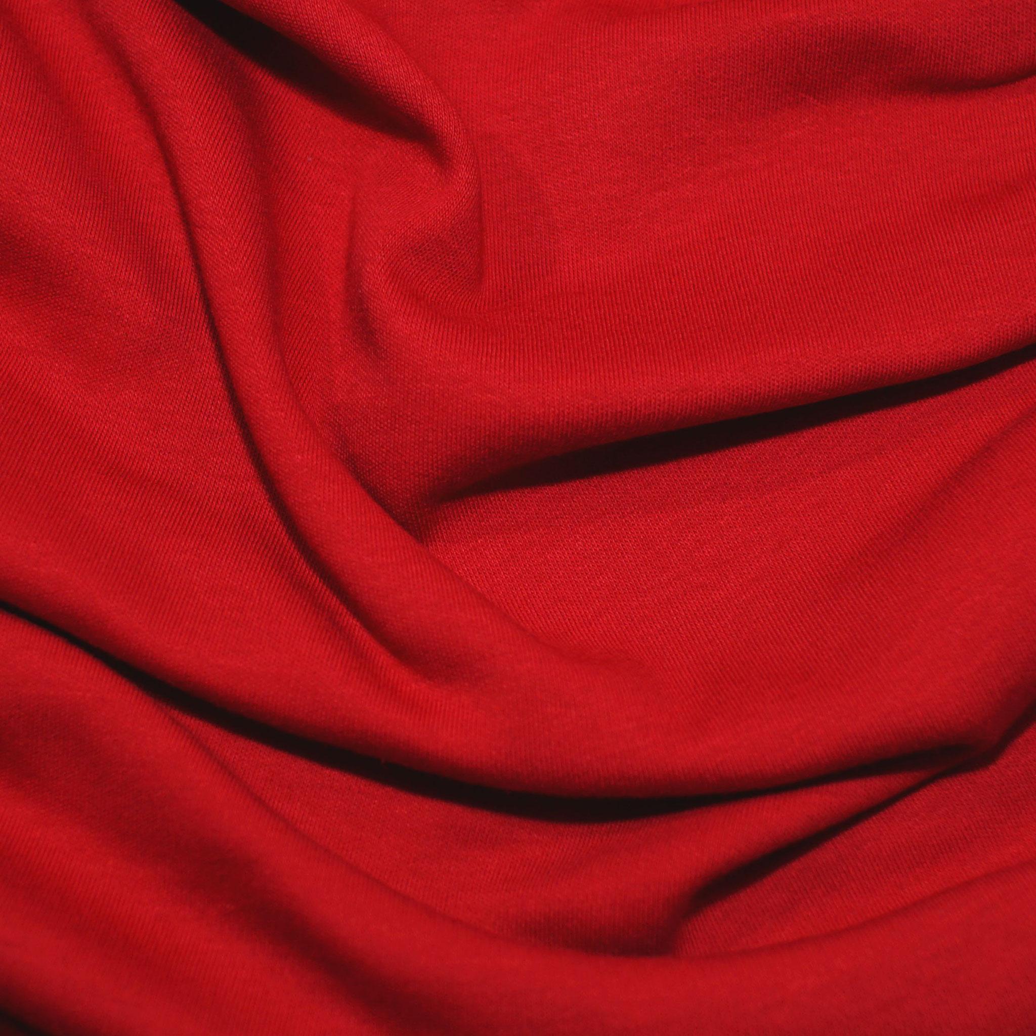 ChilliRot,Biobaumwoll- Jersey (GOTS) Lebenskleidung,95% Baumwolle, 5% Elasthan,170g/m2, 170cm