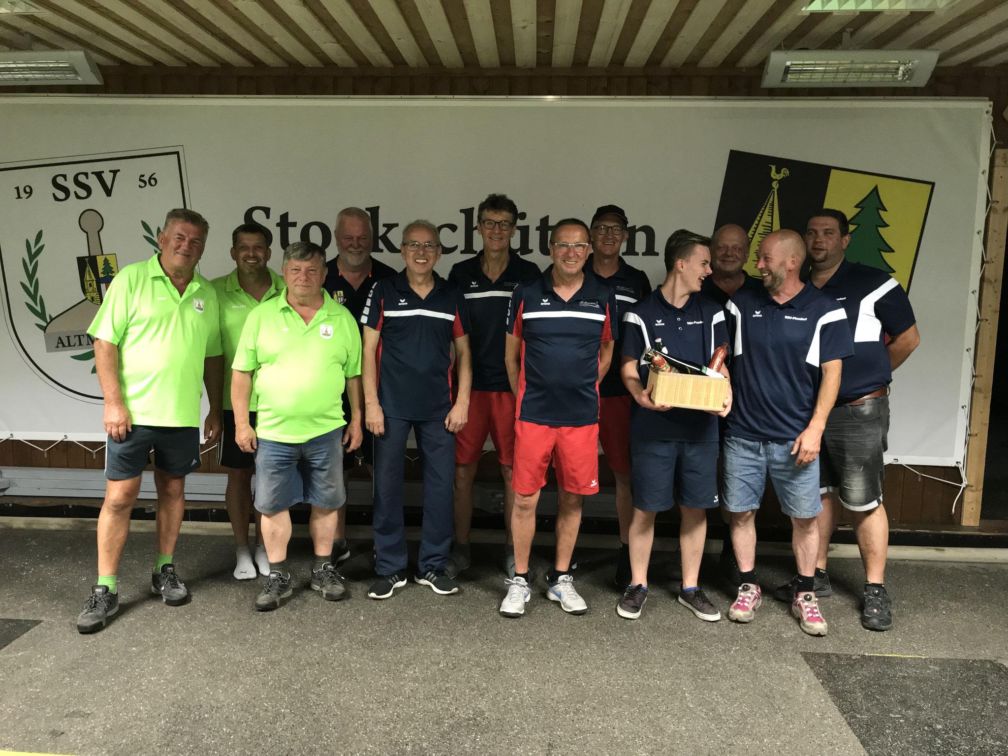 Turnier Freitag 28.6.19 - 2. SSV Altmünster, Sieger SV Hernstein, 3. ASKÖ Pinsdorf