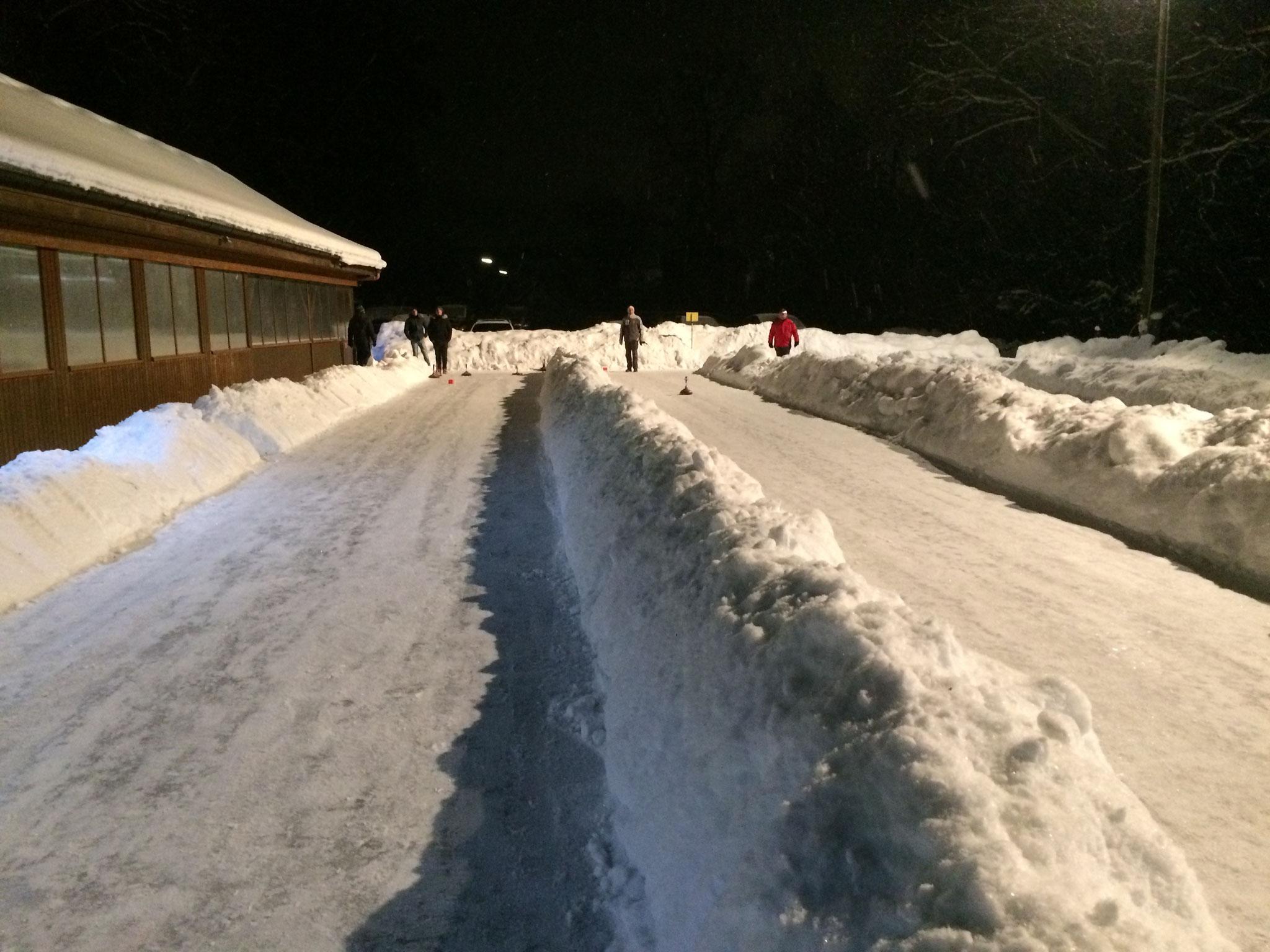 Tolle Eisbahnen - 16.1.2017