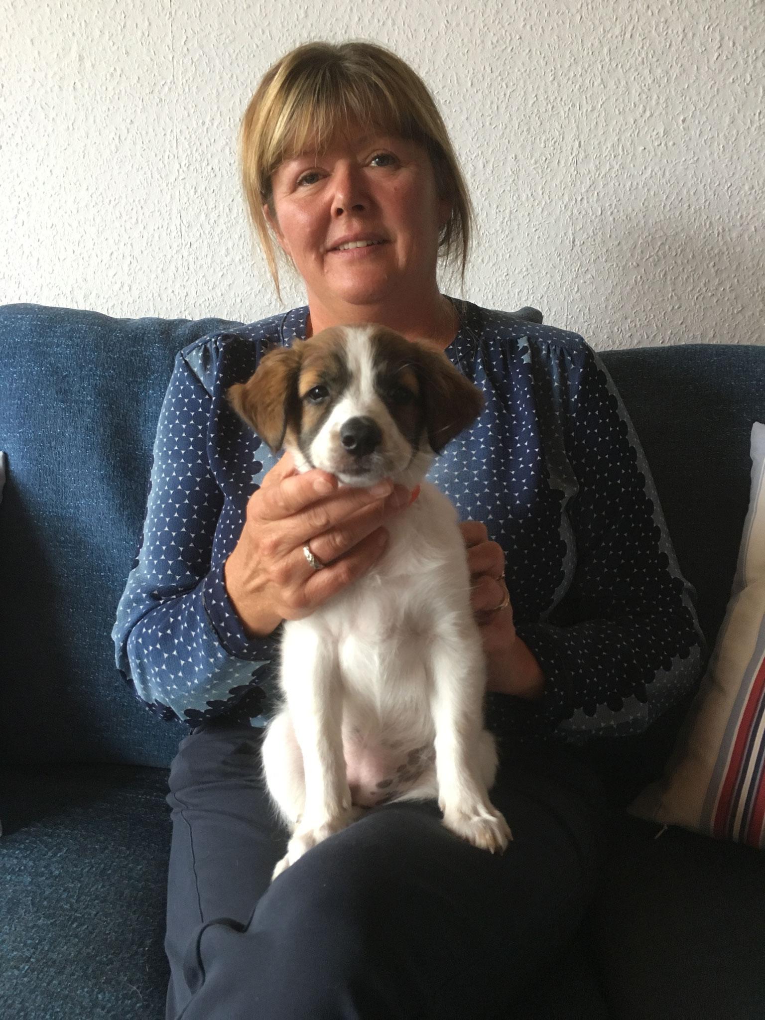 Believe wohnt jetzt mit Bettina, Kenneth sowie  Cosmo und Pepper in Kolding/Dänemark
