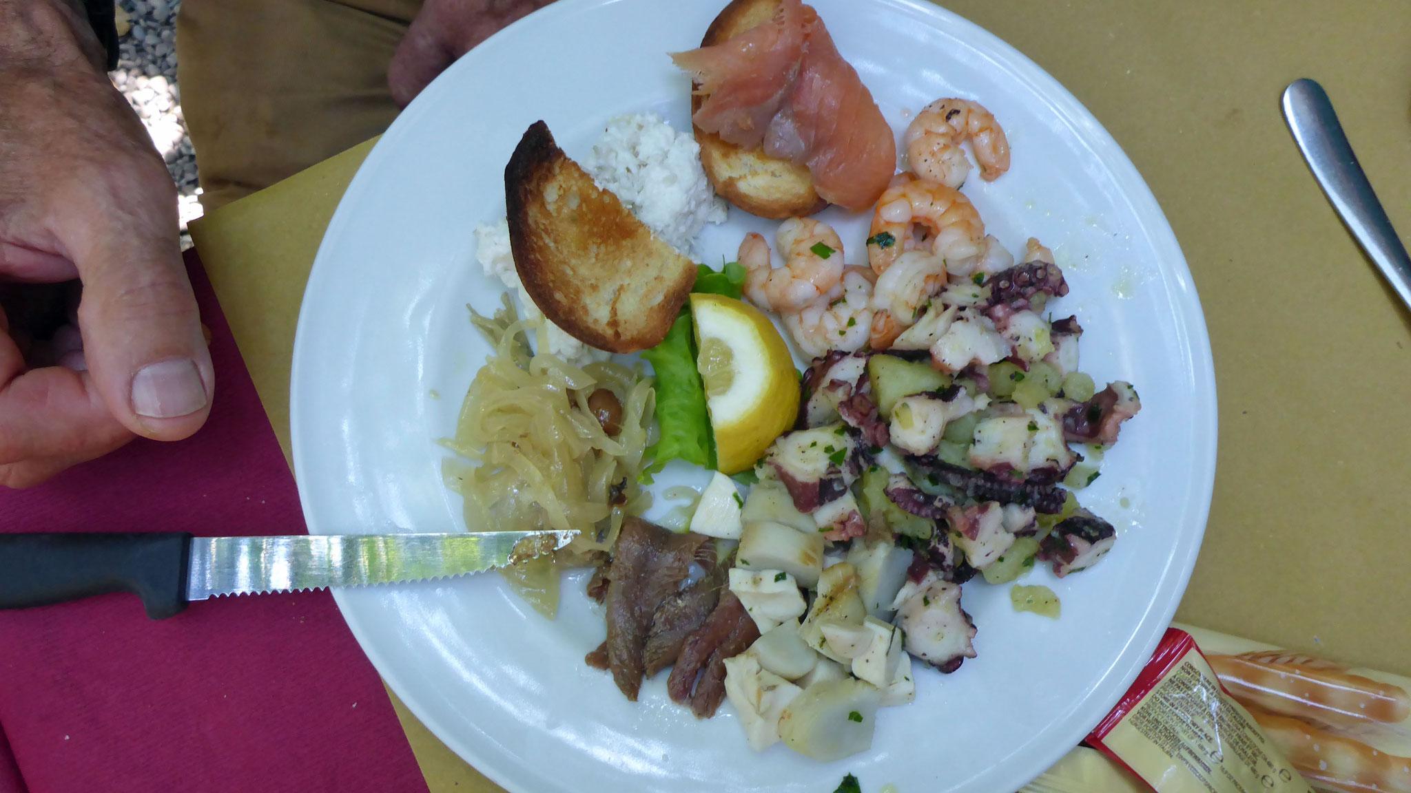 Das Essen von Hannes,