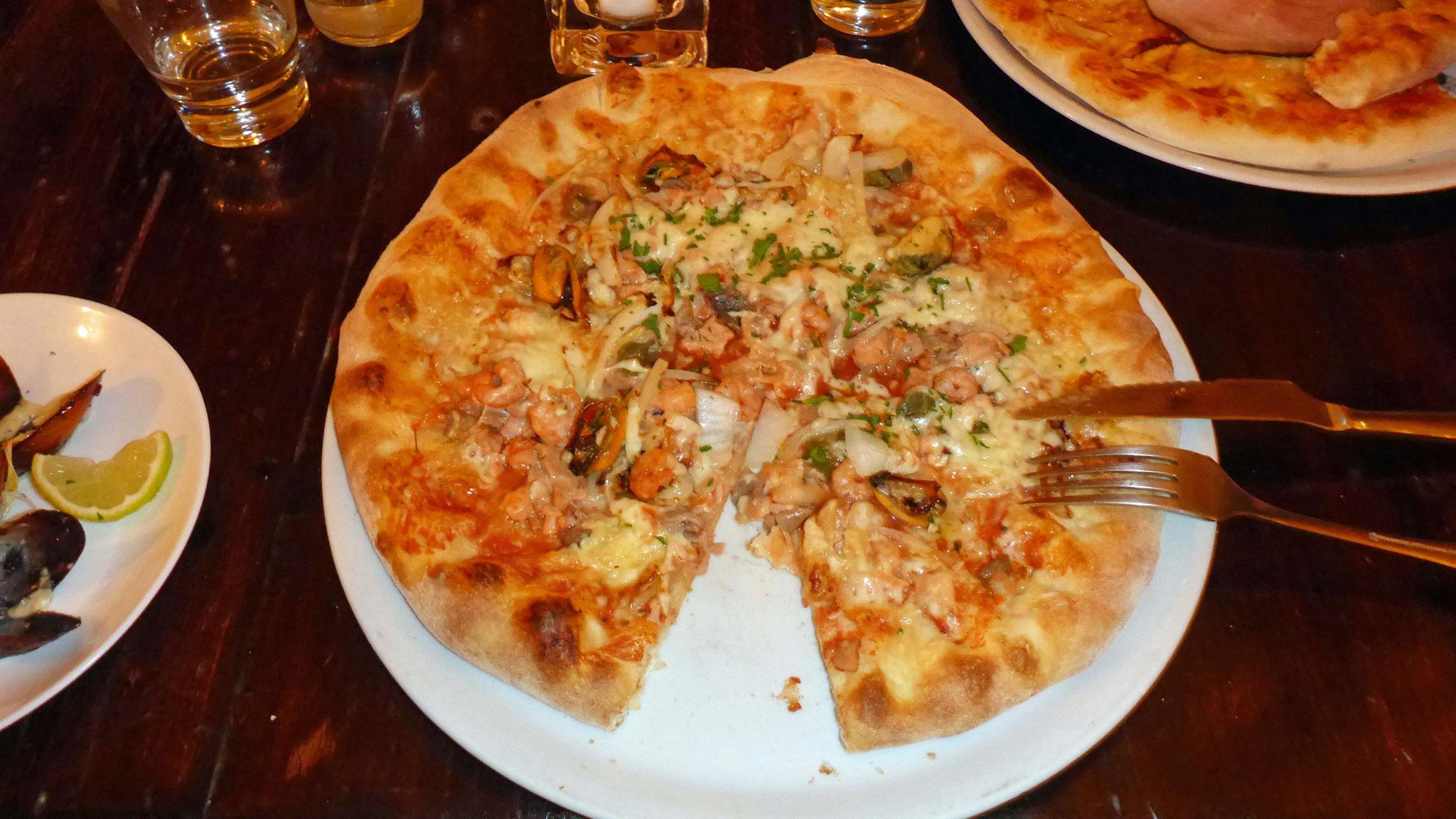 Meine Pizza.