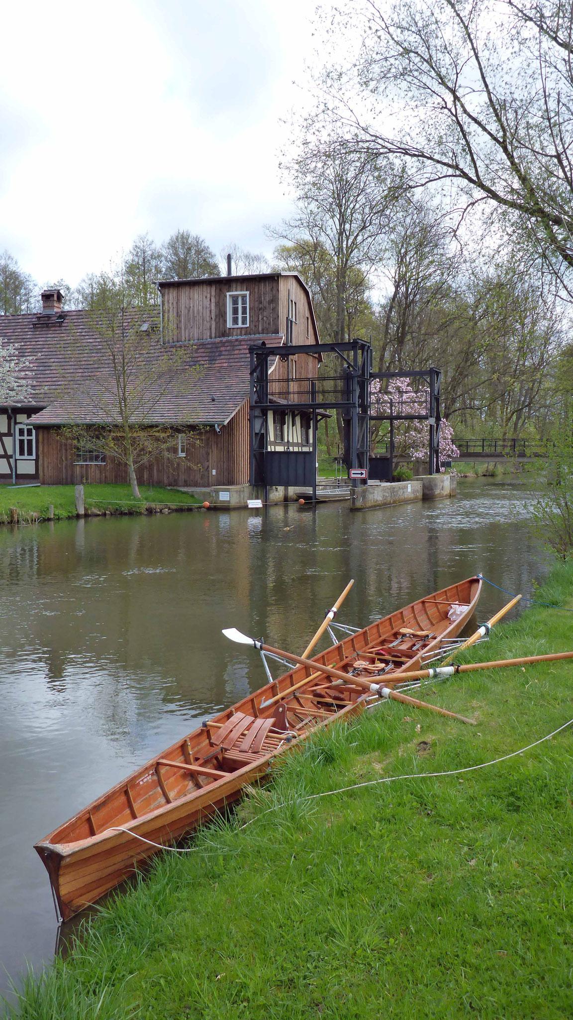 Blick auf die Radduscher Buschmühle