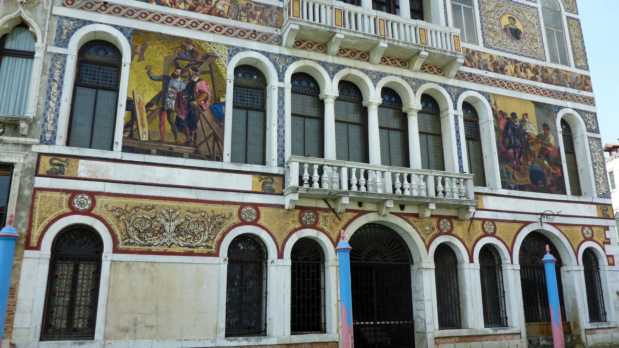 Palazzo Barbarigo mit Mosaiken