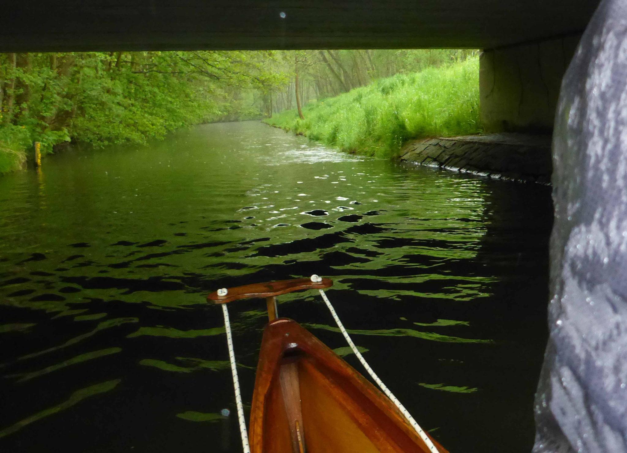 Eine Brücke zur Pause