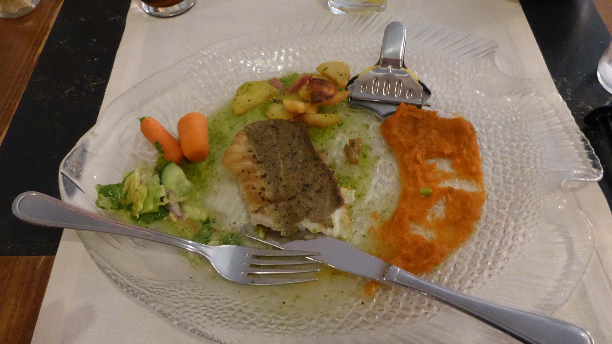 Abendessen im Weeva.