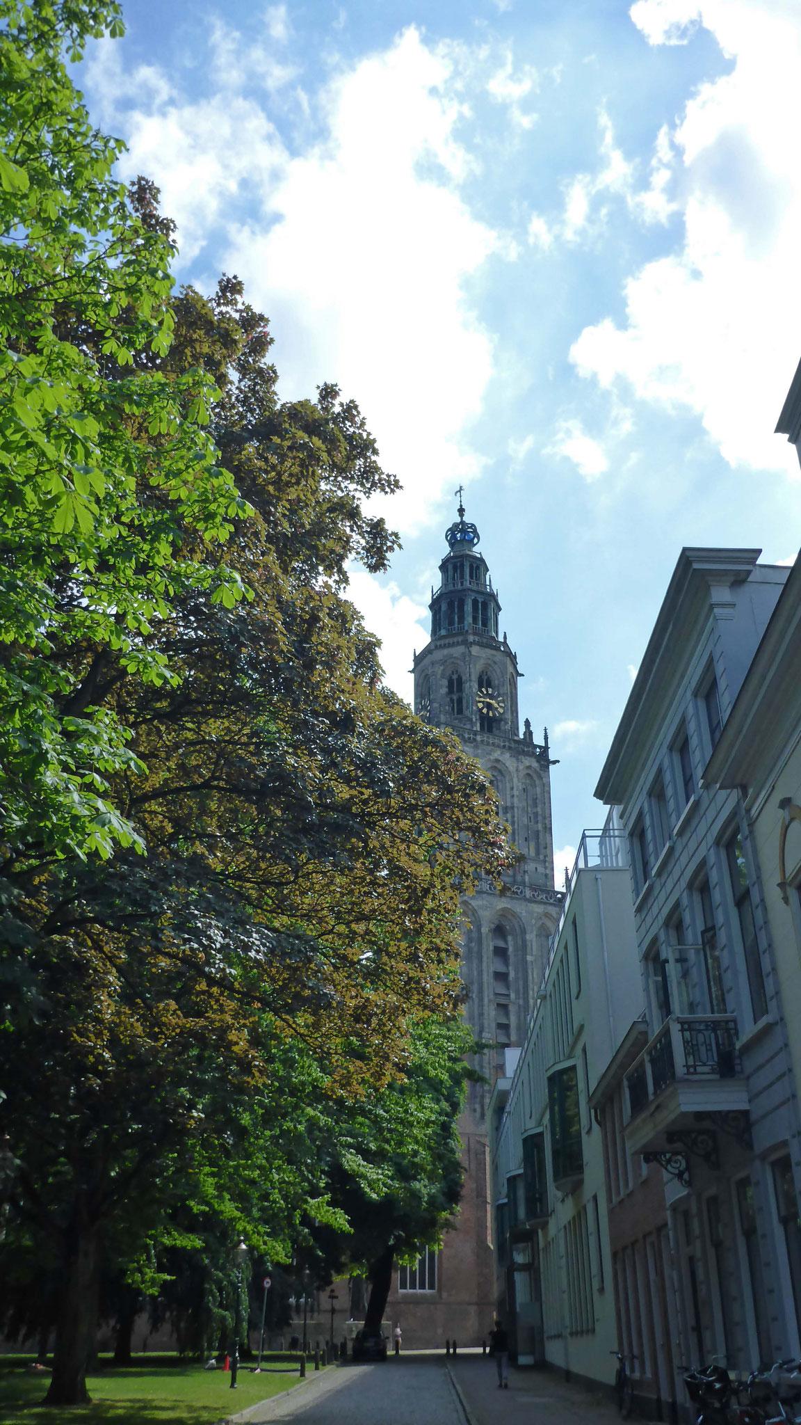 Der Martiniturm.