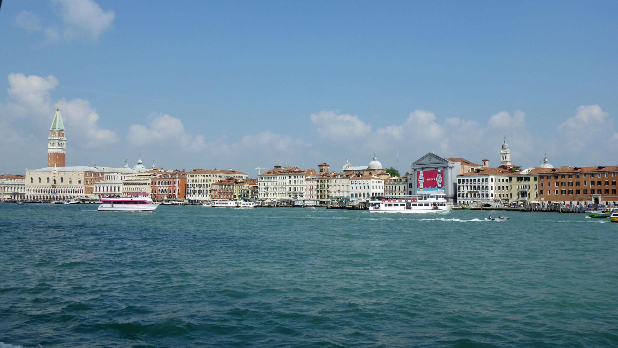 Venezia in Sicht.