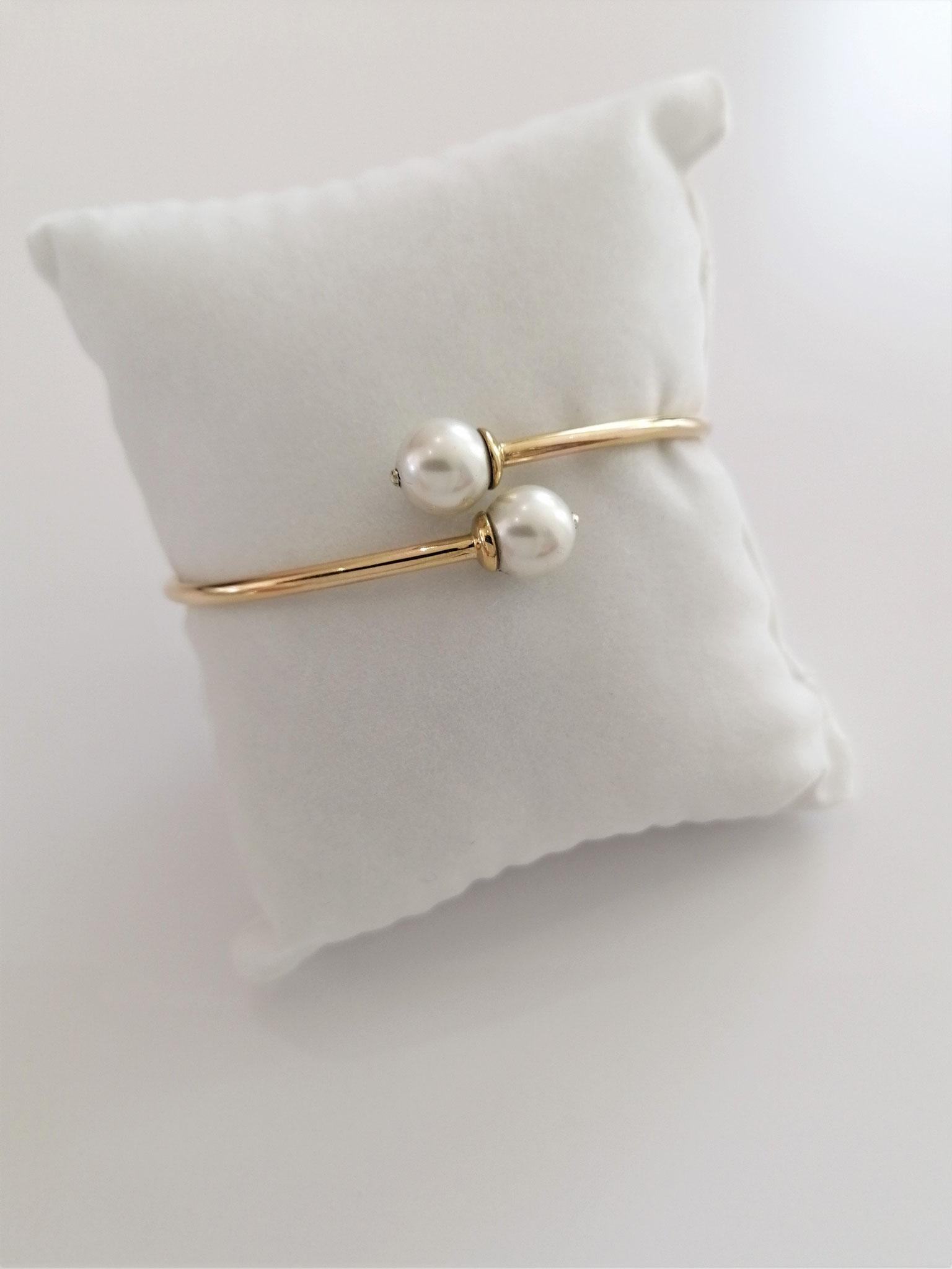 Bracelet vermeil (base argent plaqué or)