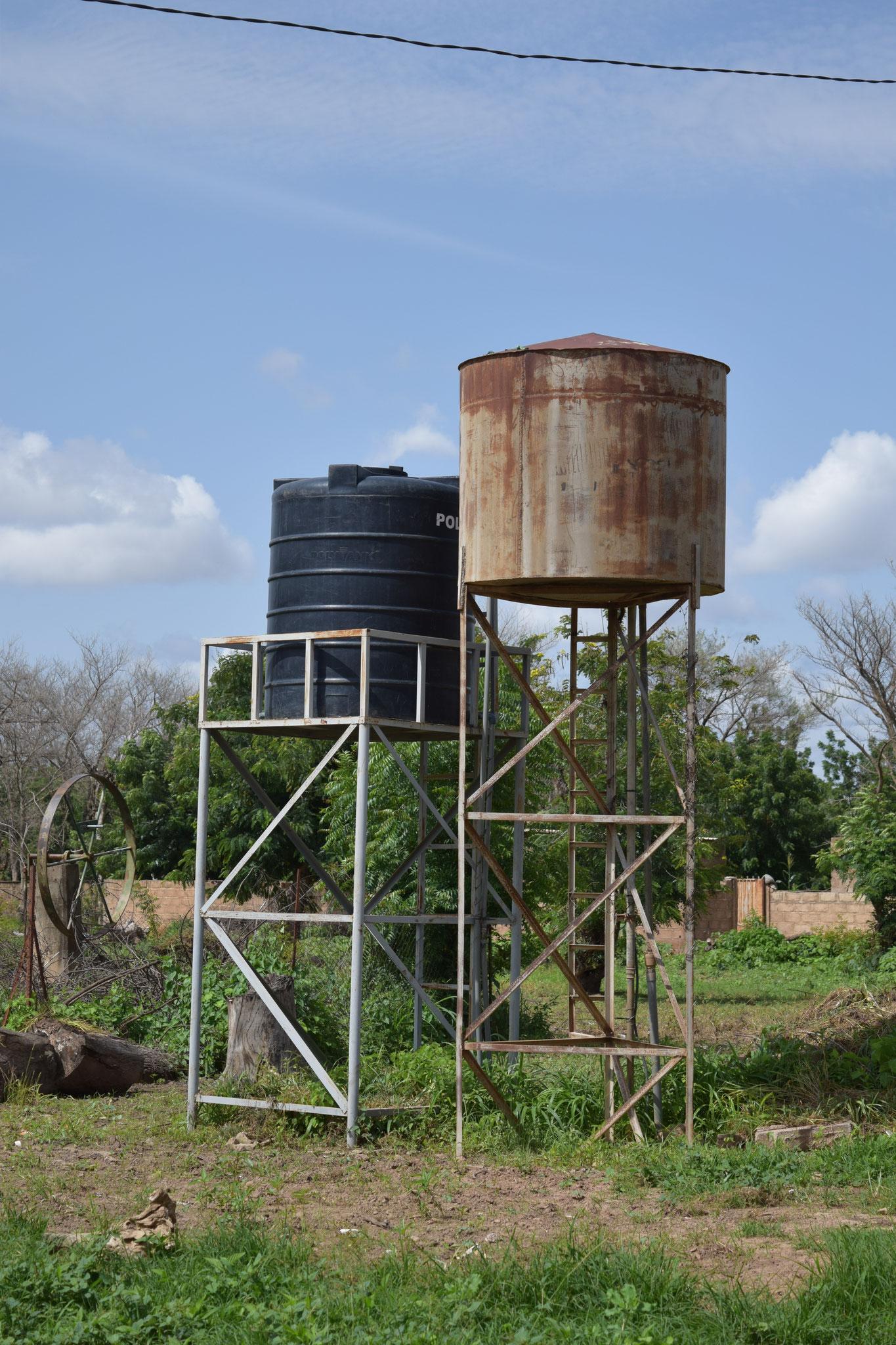 CREN de Temnaoré : réservoirs d'eau potable