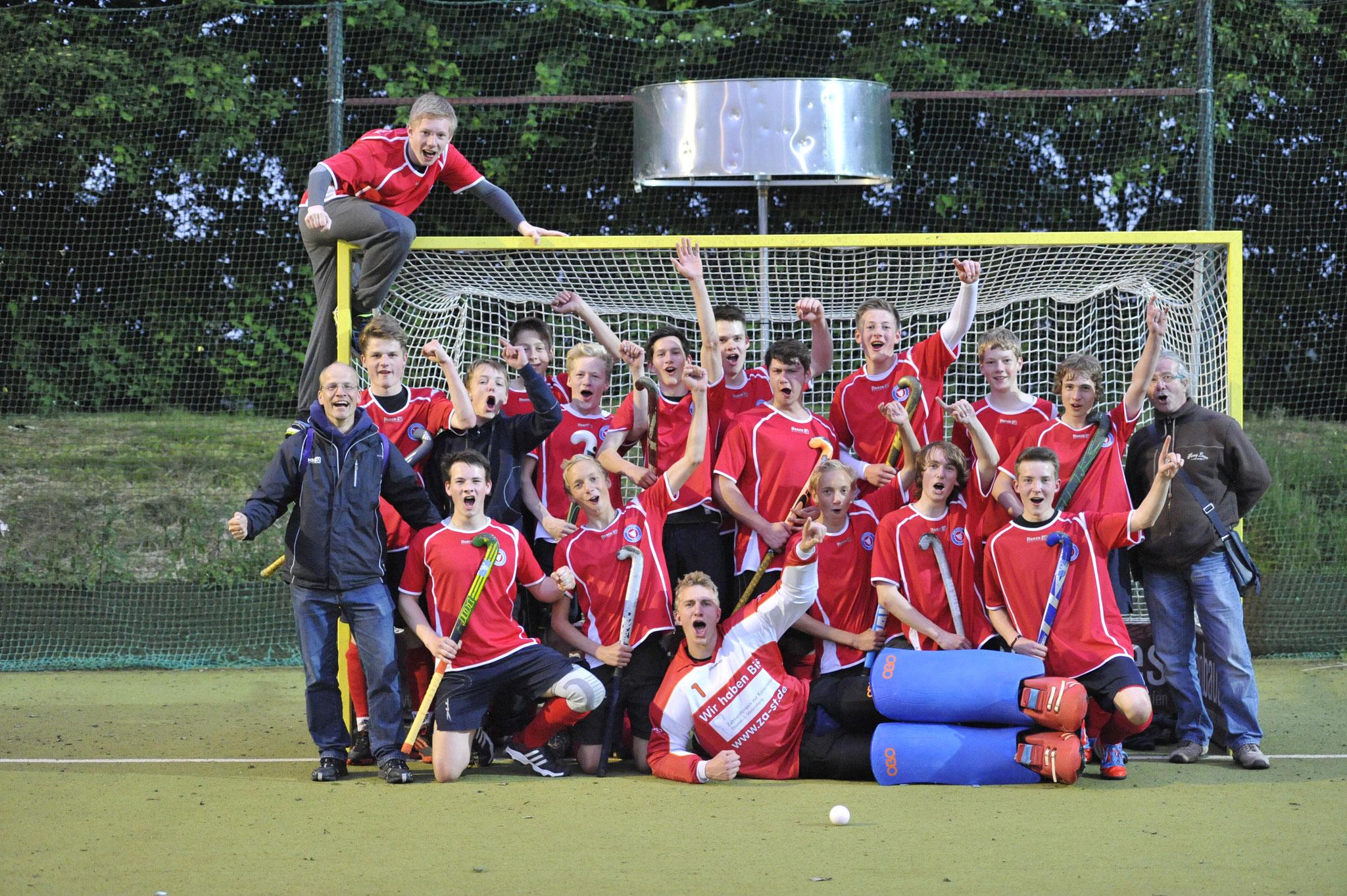 Hockeyfahrt zum Niederrheinpokal