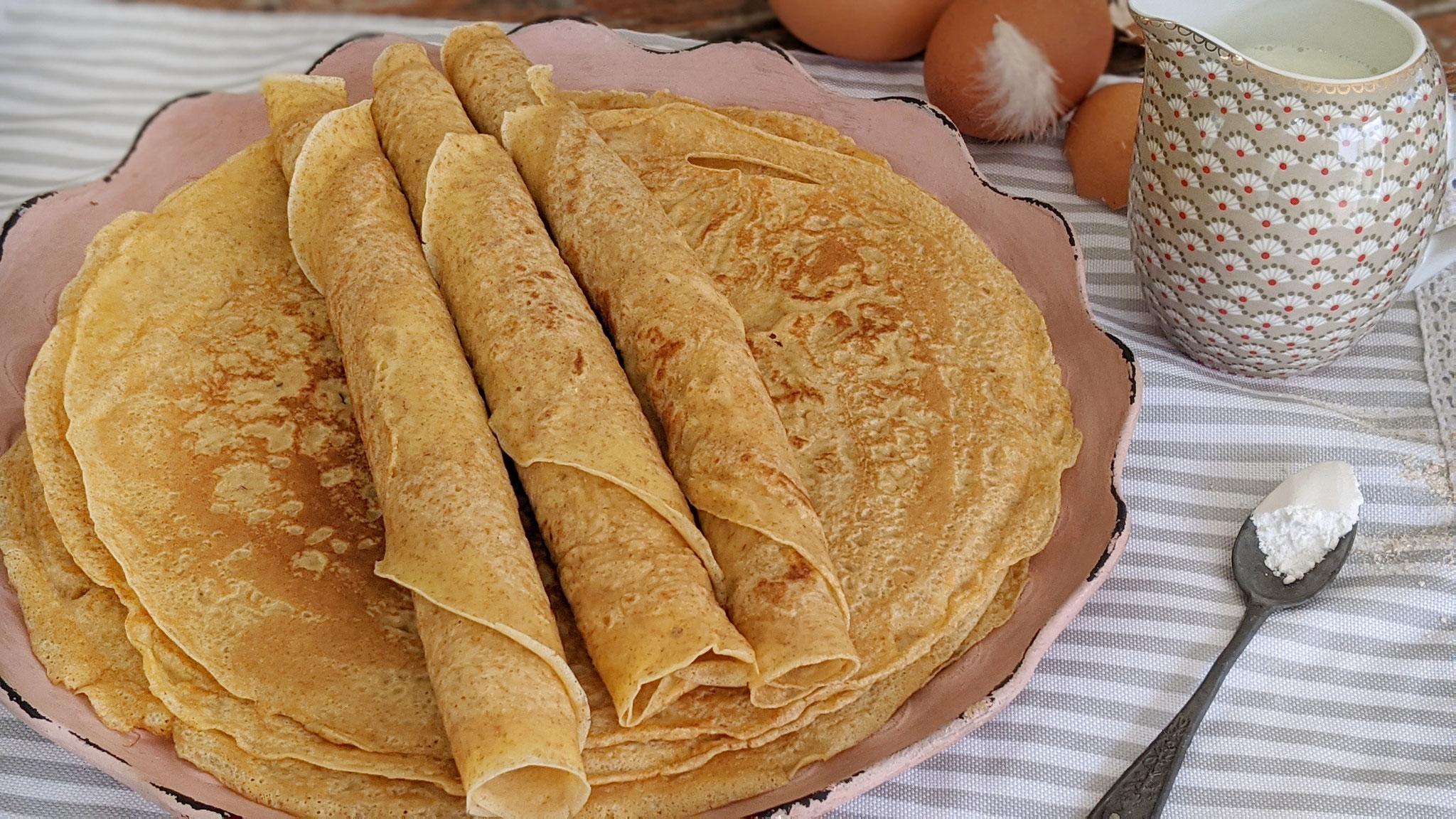 Dinkel-Vollkorn-Pfannkuchen