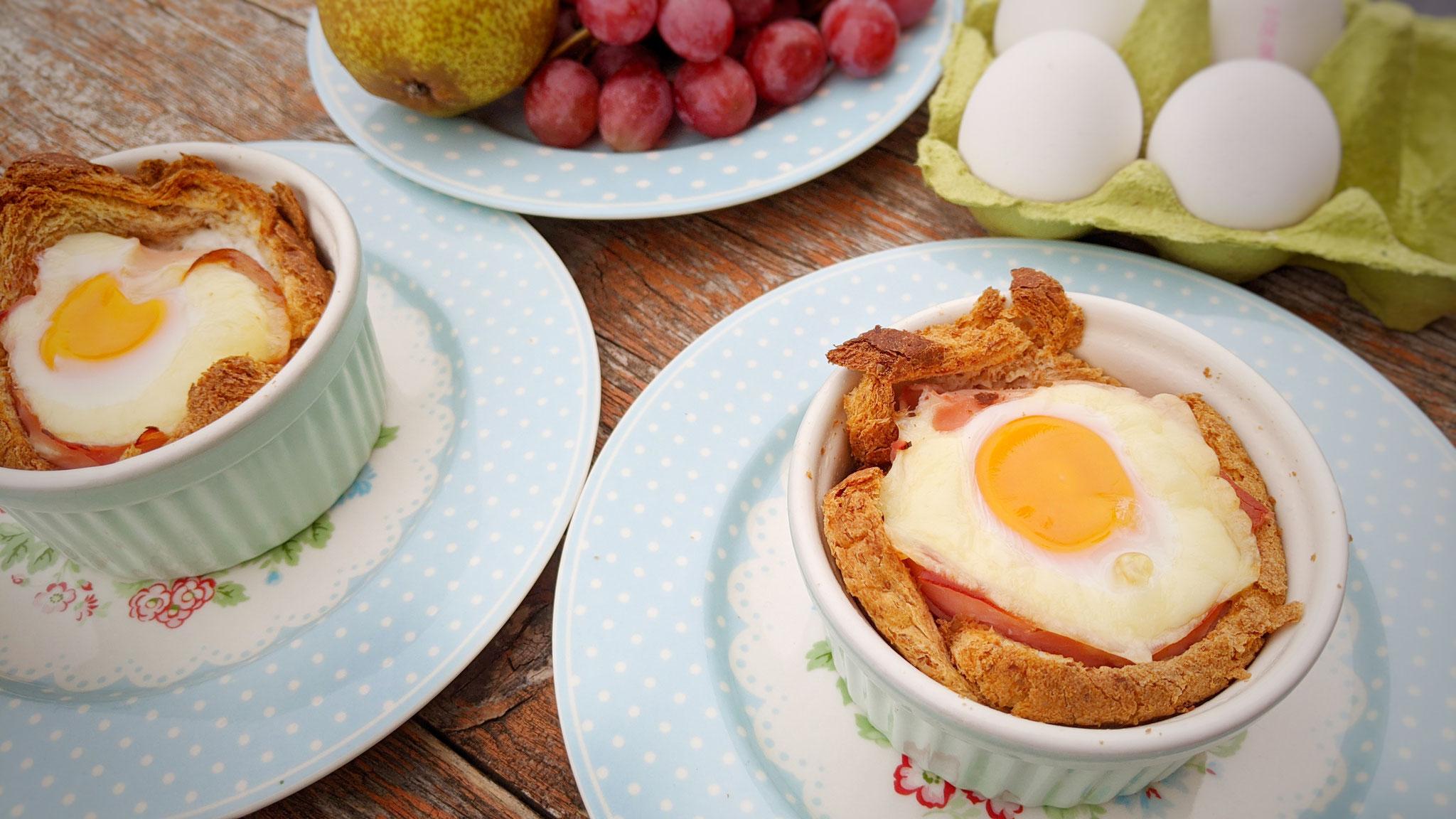 Toast-Eier
