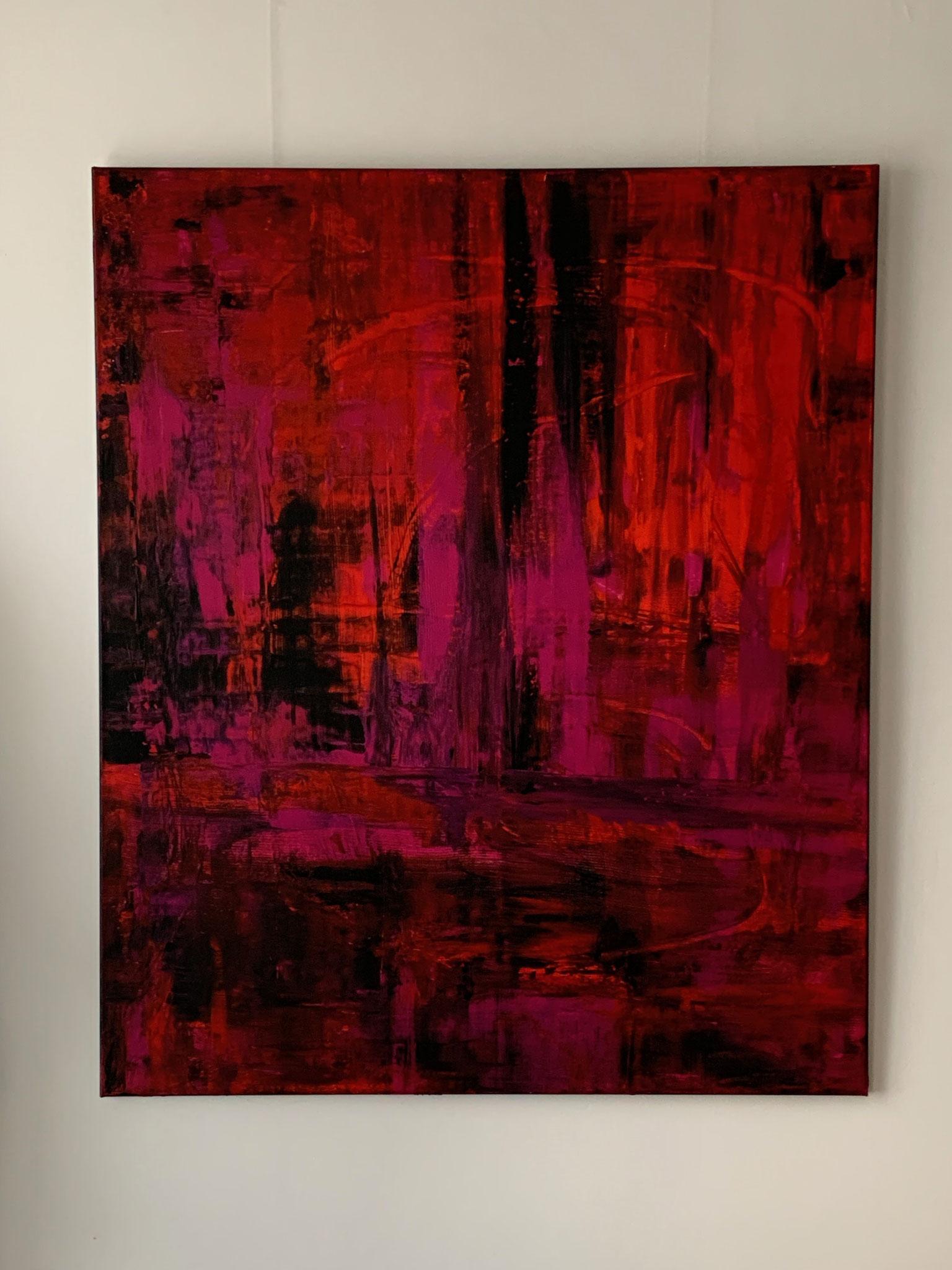 Glaubenssache, Acryl auf Leinwand, 120x100