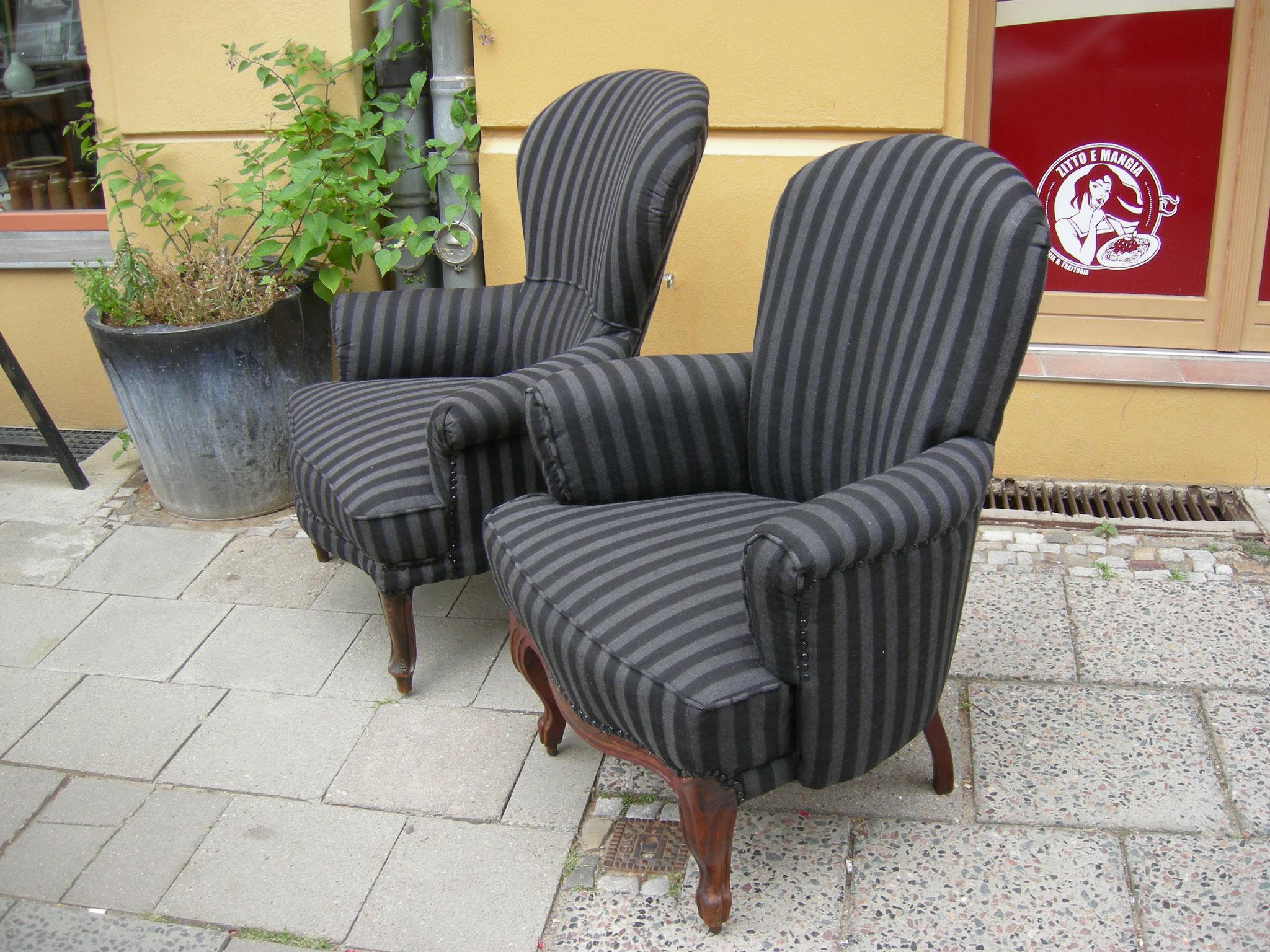 sessel polsterei berlin manfred kranz. Black Bedroom Furniture Sets. Home Design Ideas