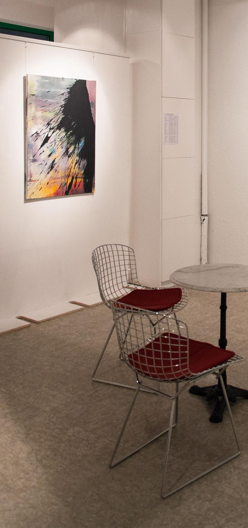 """Ausstellungsansicht """"Barbados"""", Galerie Bode Karlsruhe 2016"""