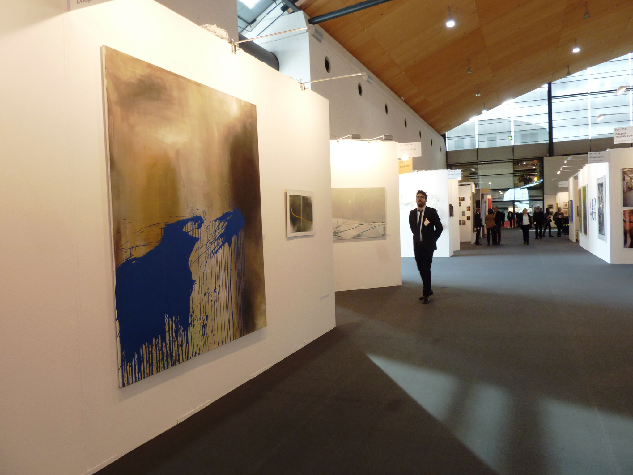 Ausstellungsansicht, Art Karlsruhe 2015
